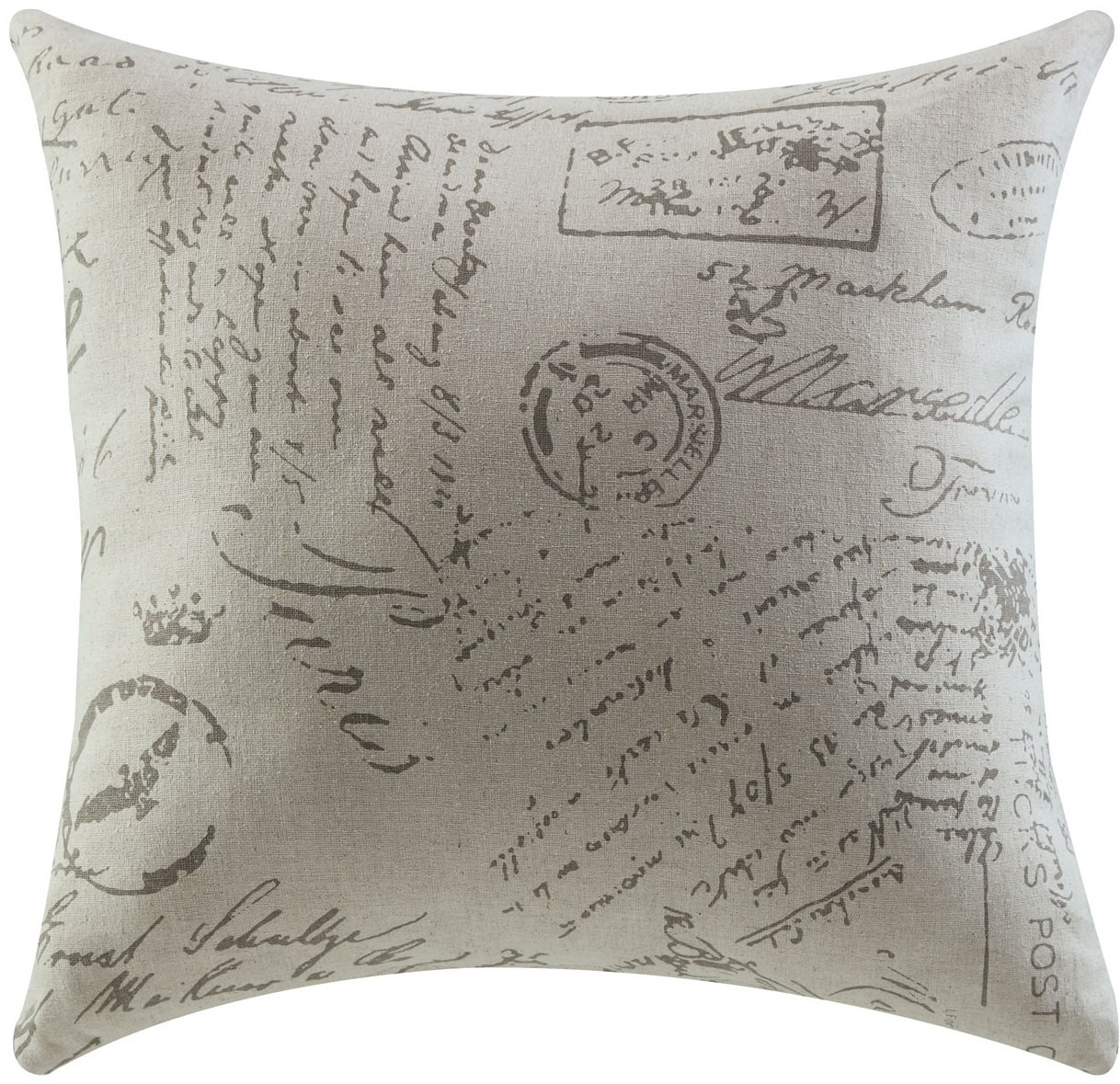 Throw Pillows With French Script : French Script Accent Pillow Set of 2 from Coaster (905030) Coleman Furniture