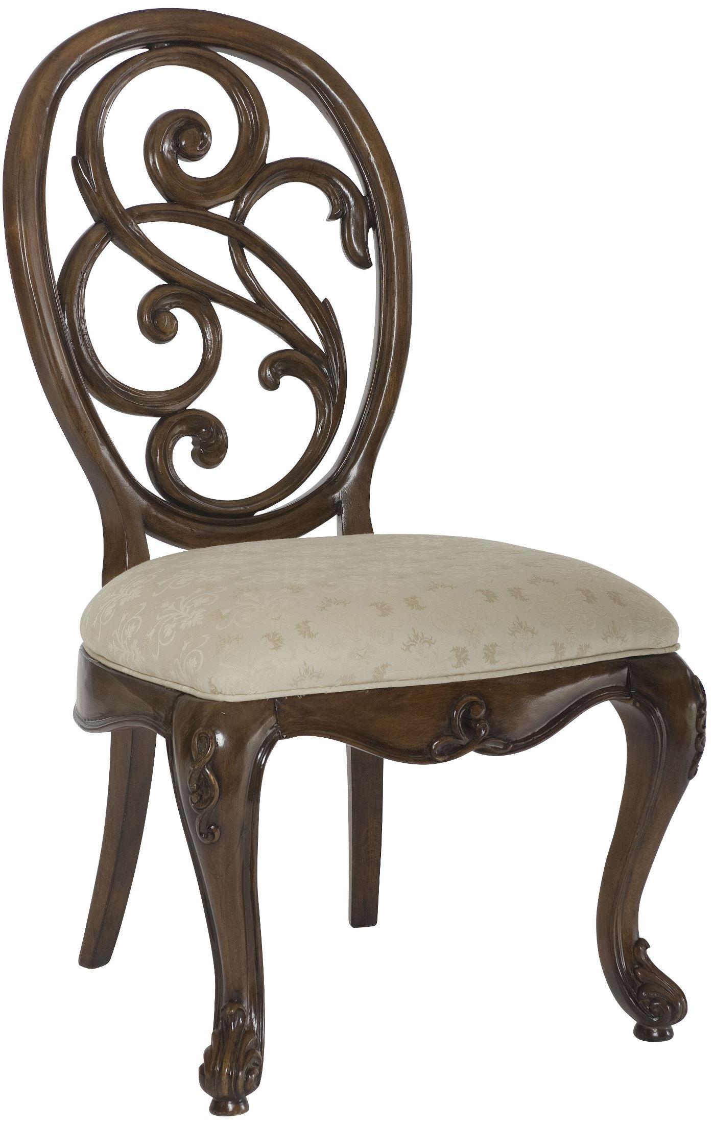 jessica mcclintock walnut renaissance dining dining room