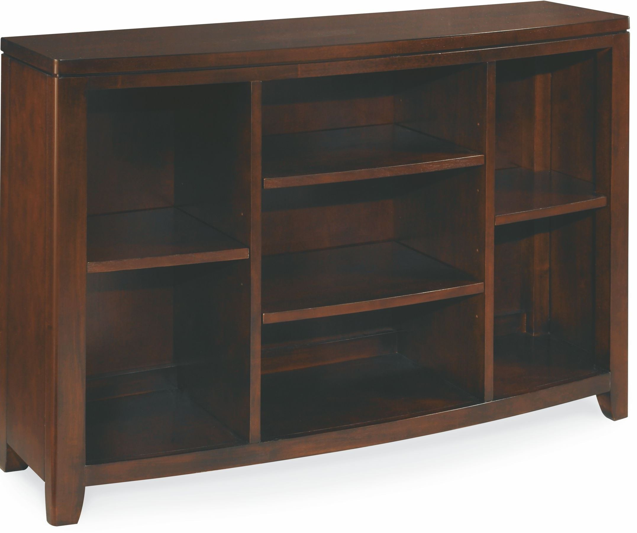 Tribecca Root Beer Bookcase Console From American Drew 912 926 Coleman Furniture