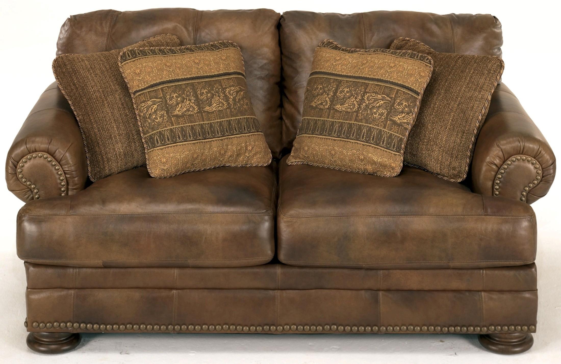 Ralston Teak Loveseat 9150035 Ashley Furniture
