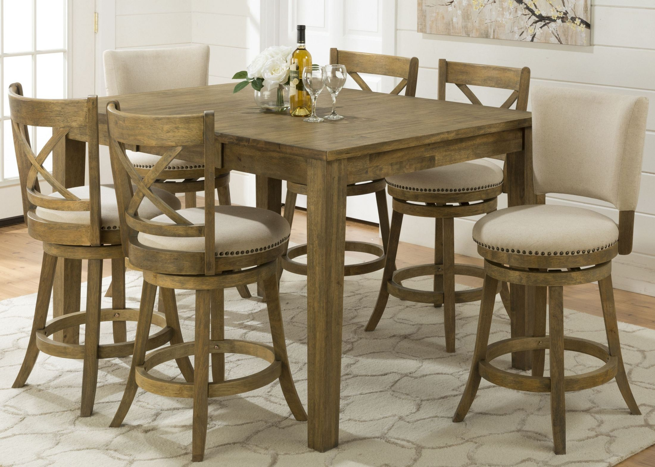 ... Landing Extendable Counter Height Dining Table, 916-60, Jofran