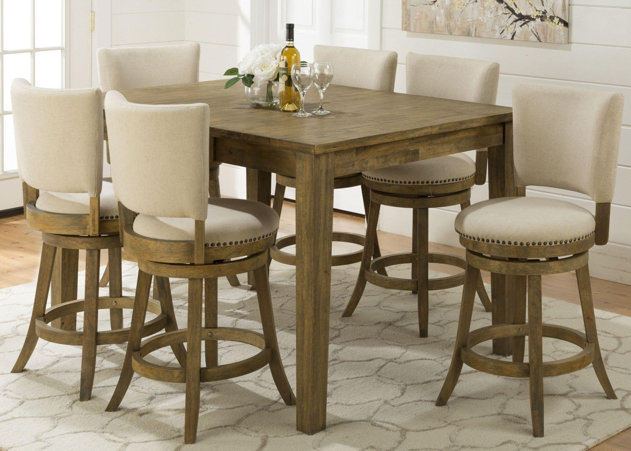 Turner 39 s landing extendable counter height dining table for Counter height extendable dining table