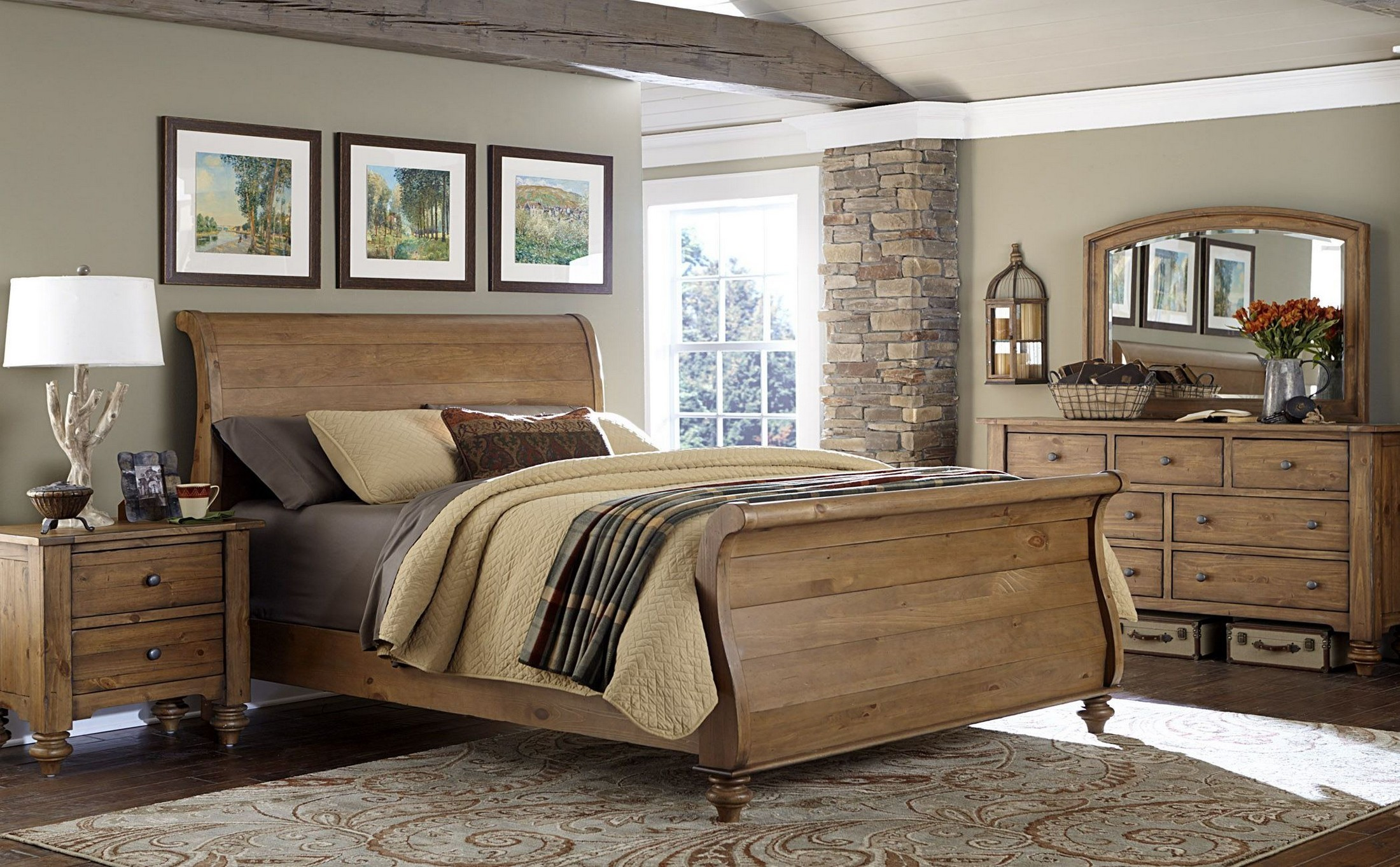 Southern Pines Ii Sleigh Bedroom Set From Liberty 918 Br