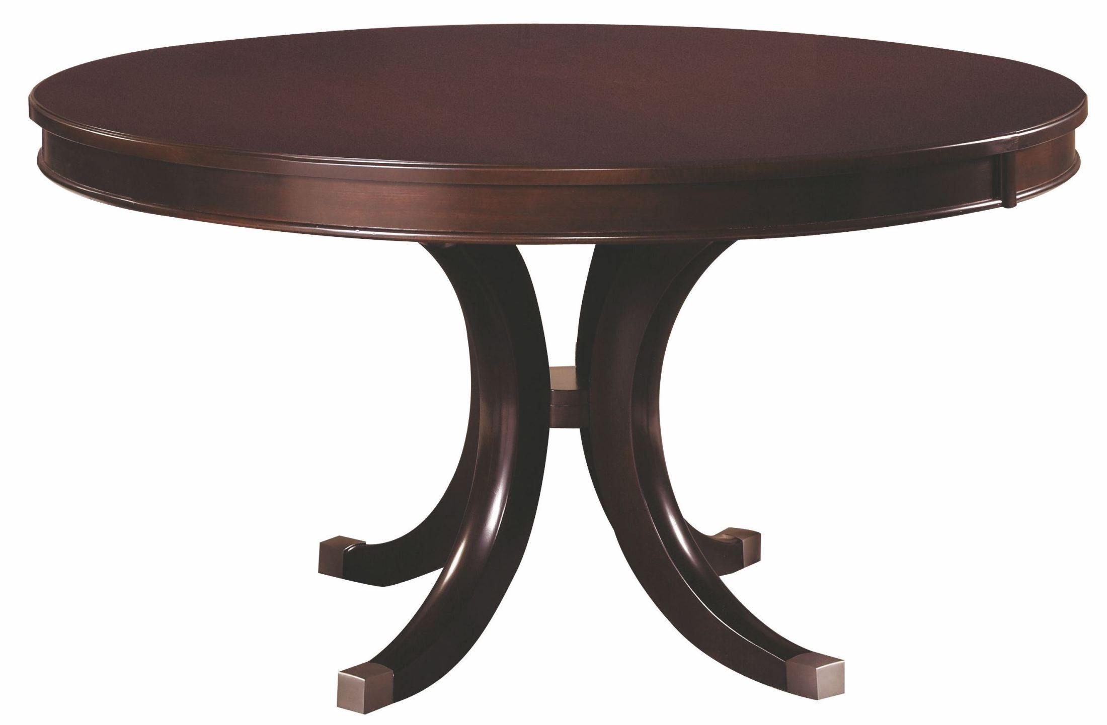 Alston round extendable dining table 92 052 kincaid for Round extendable dining table