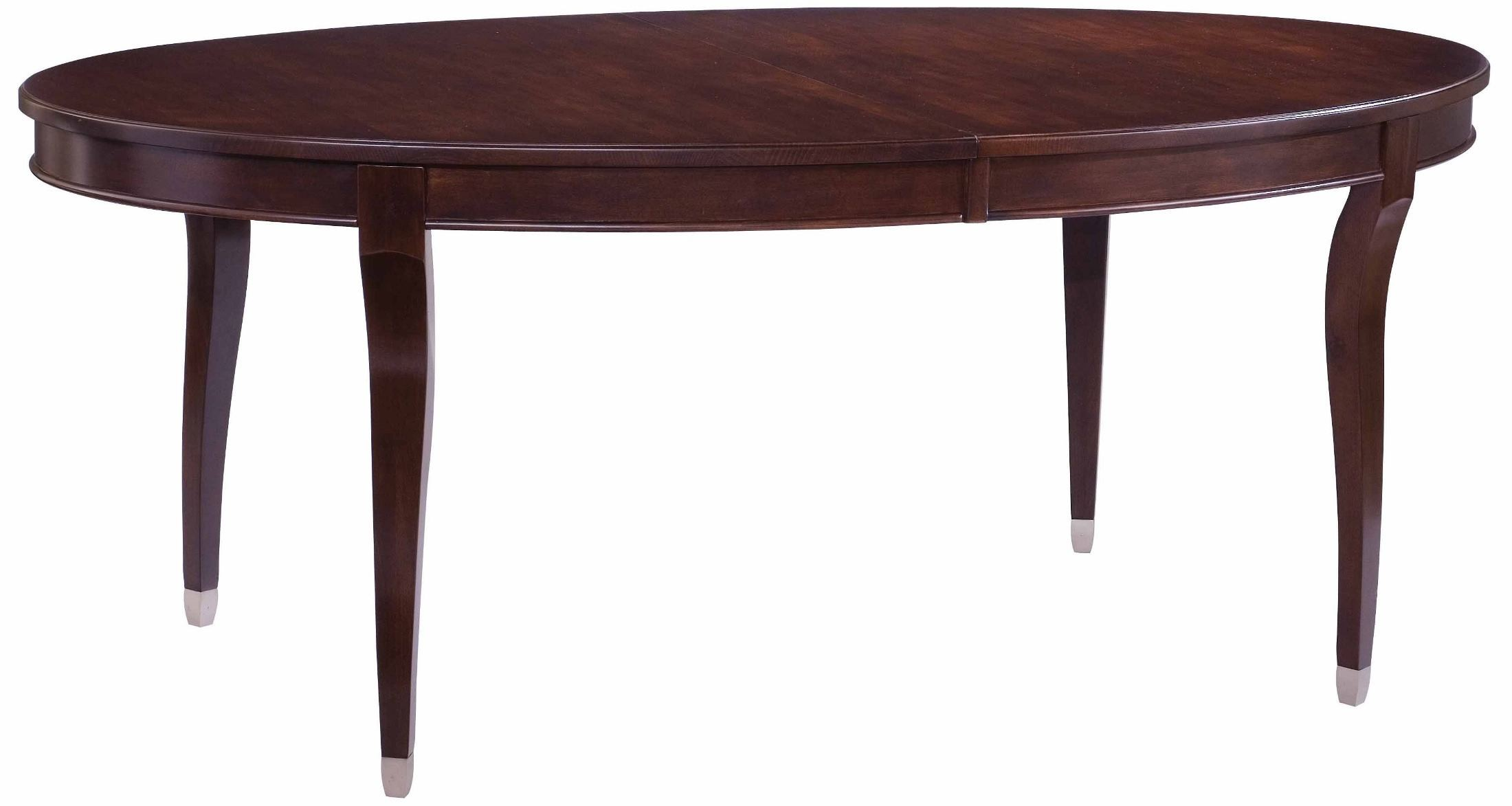 Alston Oval Extendable Leg Dining Table from Kincaid 92  : 92 054silo from colemanfurniture.com size 2200 x 1173 jpeg 157kB