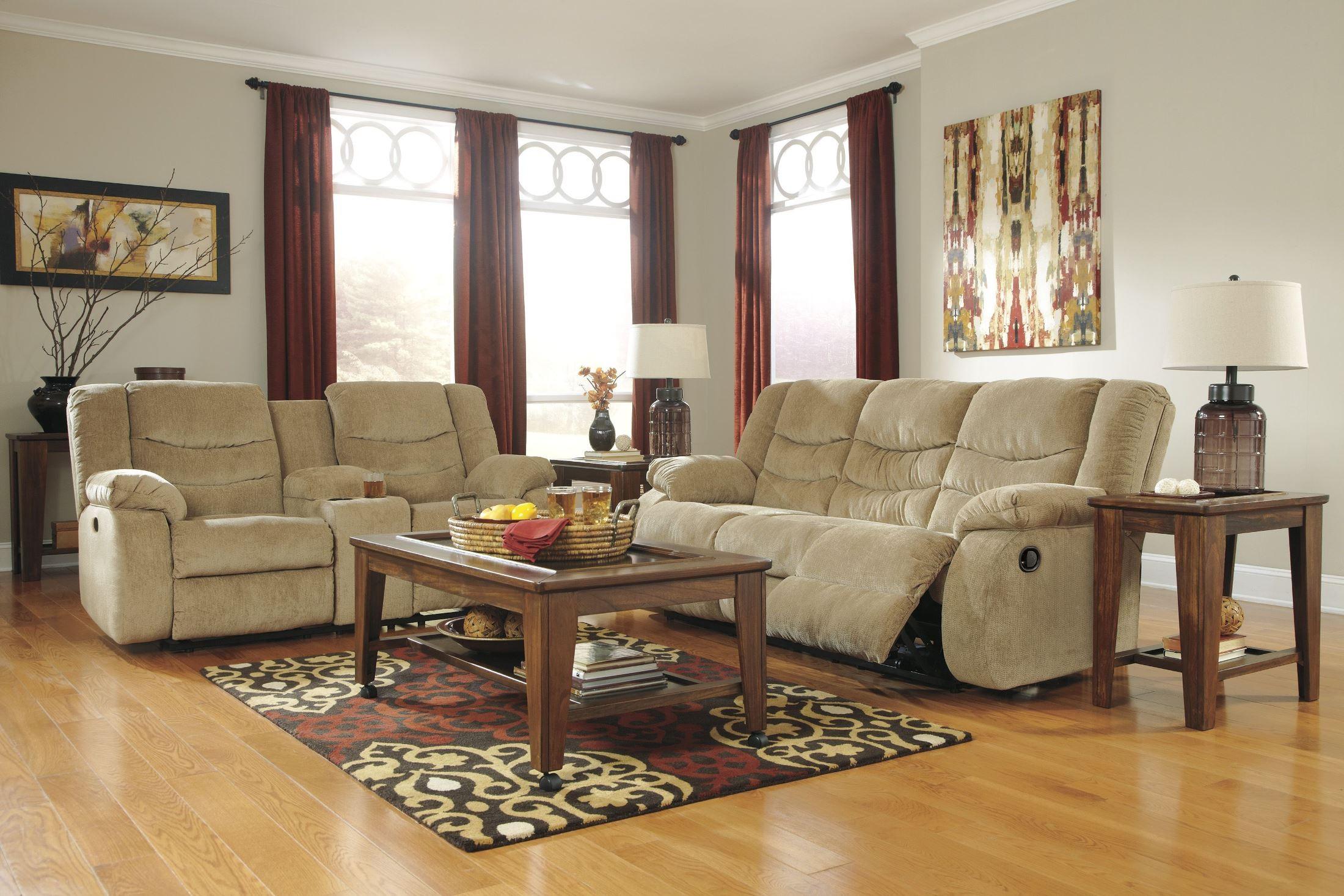 Garek sand reclining living room set from ashley 92002 88 for Living room 94