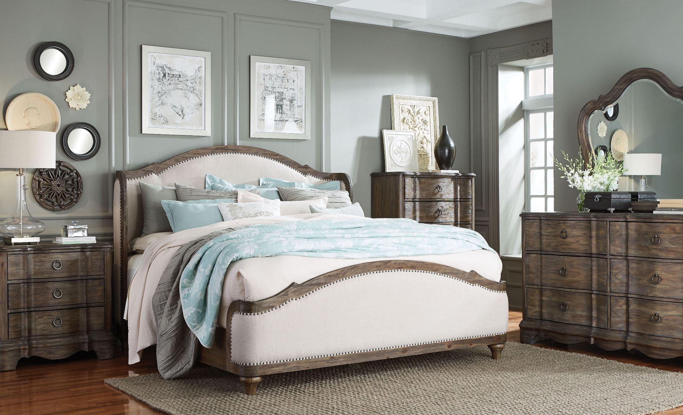 queen upholstered platform bed 92351 92352 92353 standard furniture