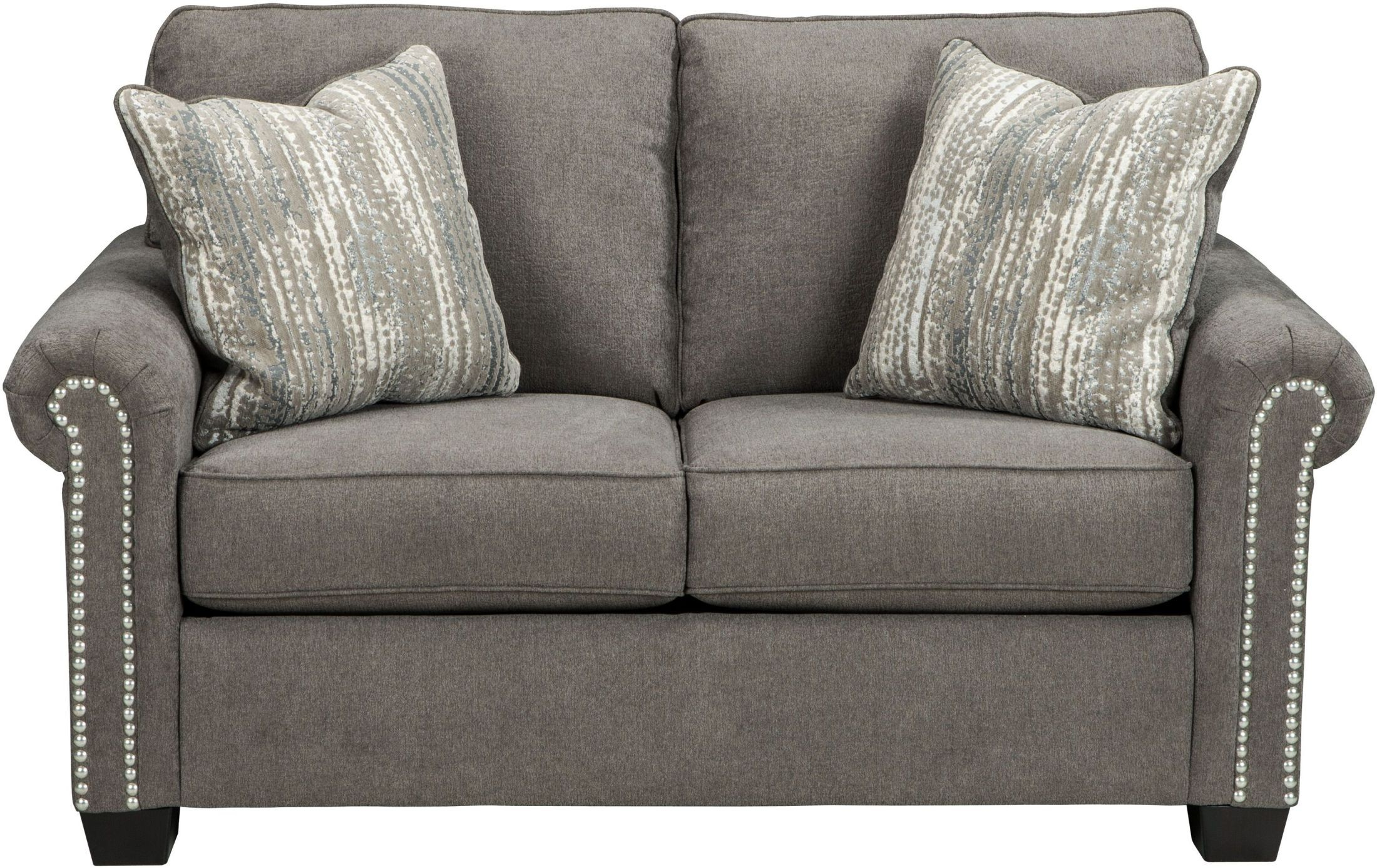 Gilman Charcoal Loveseat 9260235 Ashley