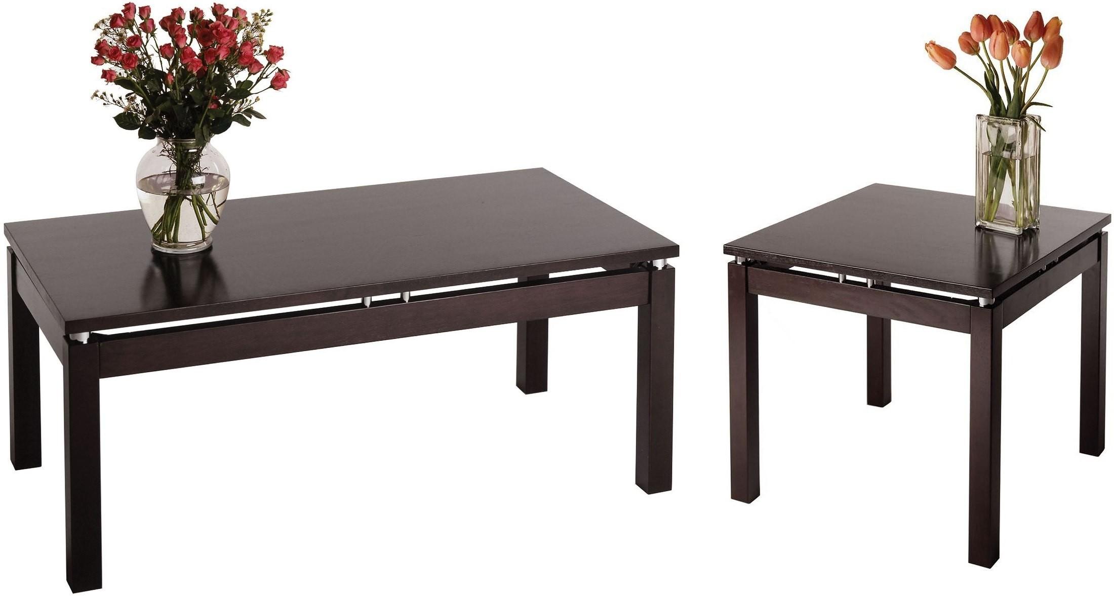 Linea Dark Espresso Coffee Table 92740 Winsome