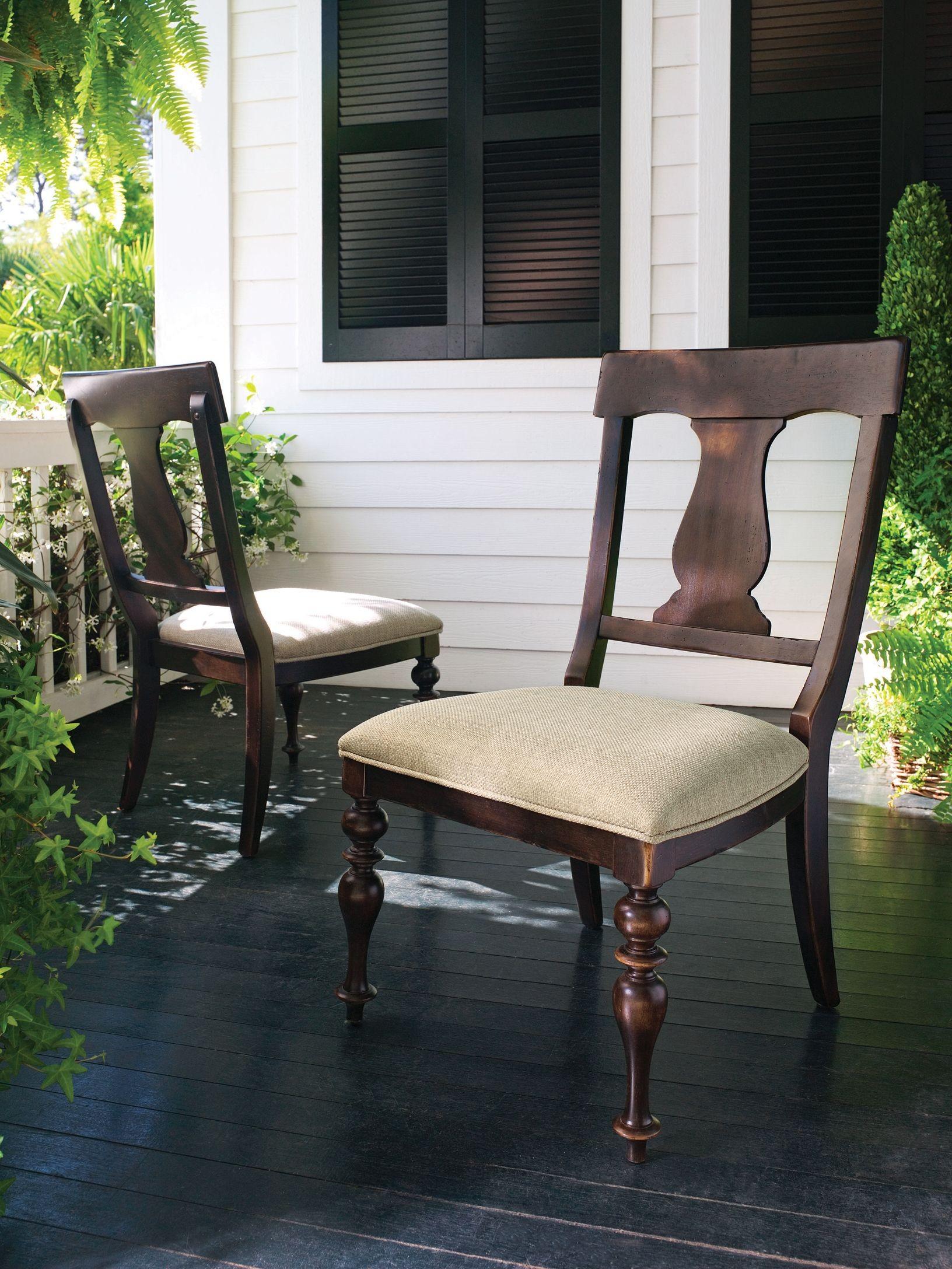 Paula Deen Home Tobacco Counter Height Chair Set Of 2 From Paula Deen 932606