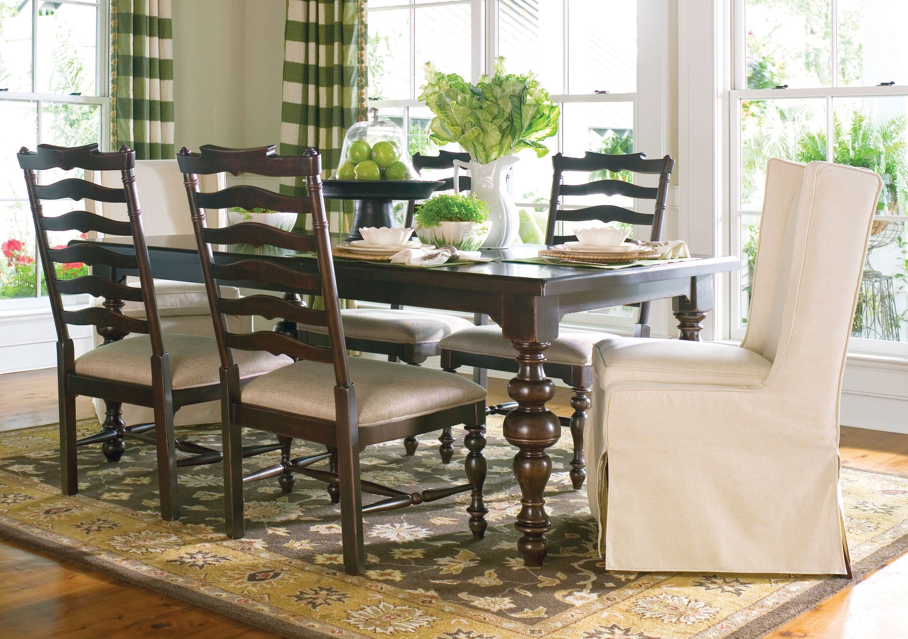 paula deen home brown paula 39 s extendable dining room set
