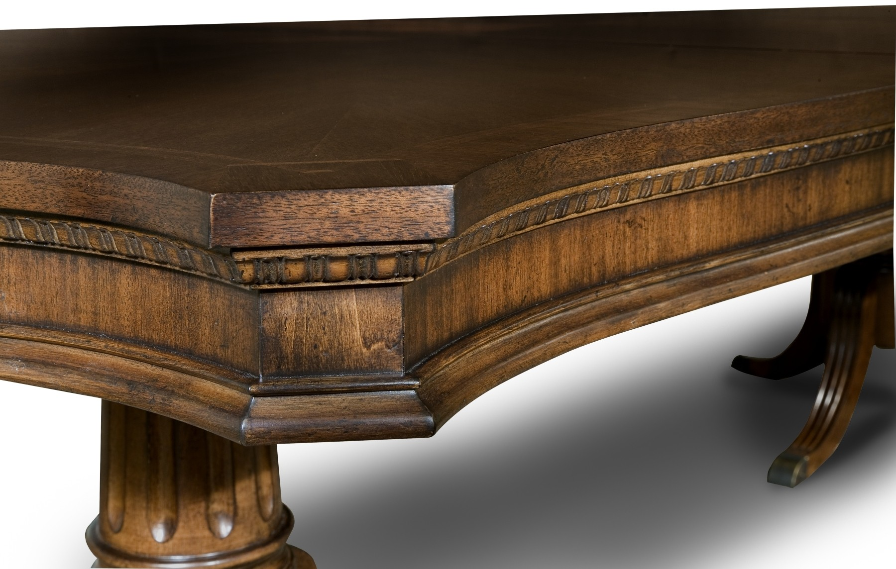 American Traditions Rectangular Pedestal Table From Legacy Classic 9350 622 B T Coleman