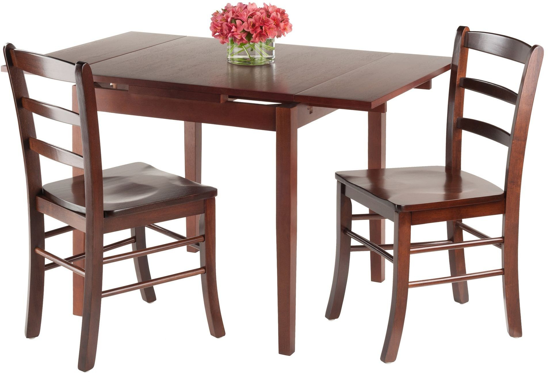 Pulman 3 piece extendable dining room set 94352 winsome for 2 piece dining room set