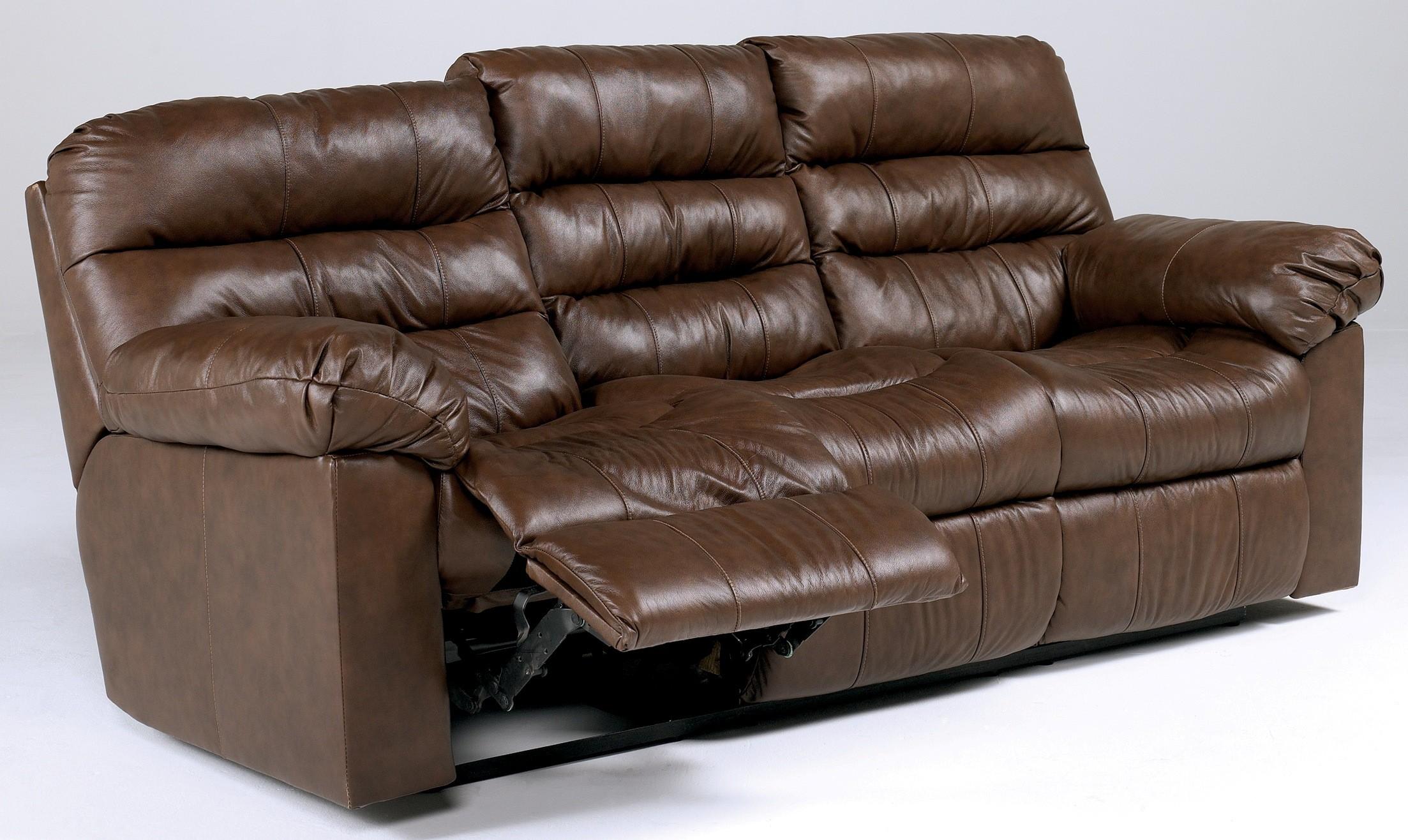 Memphis Brown Reclining Power Sofa Ashley Furniture