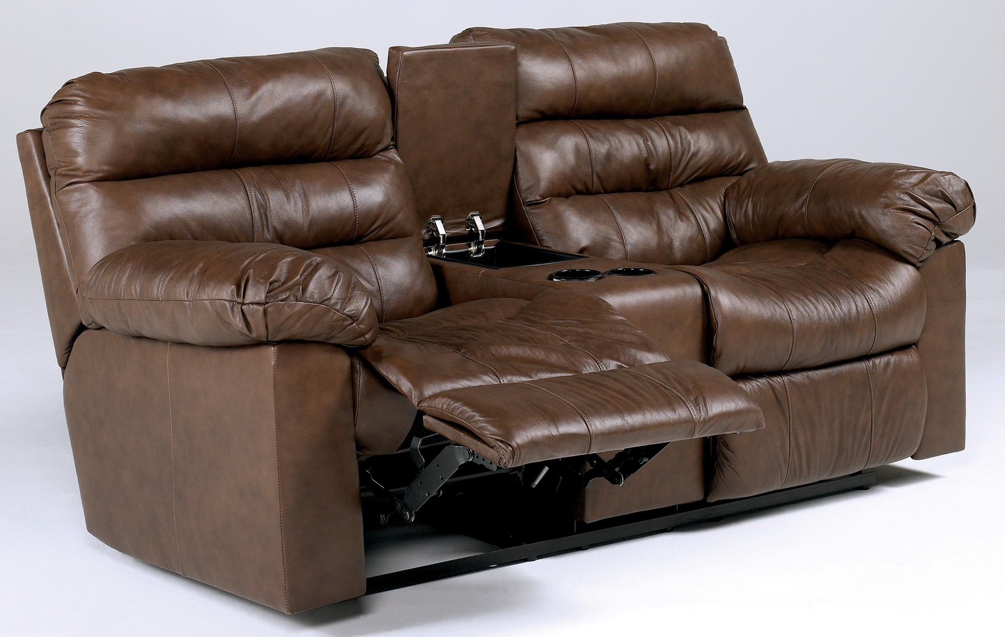 Memphis Brown Reclining Sectional SEC Ashley