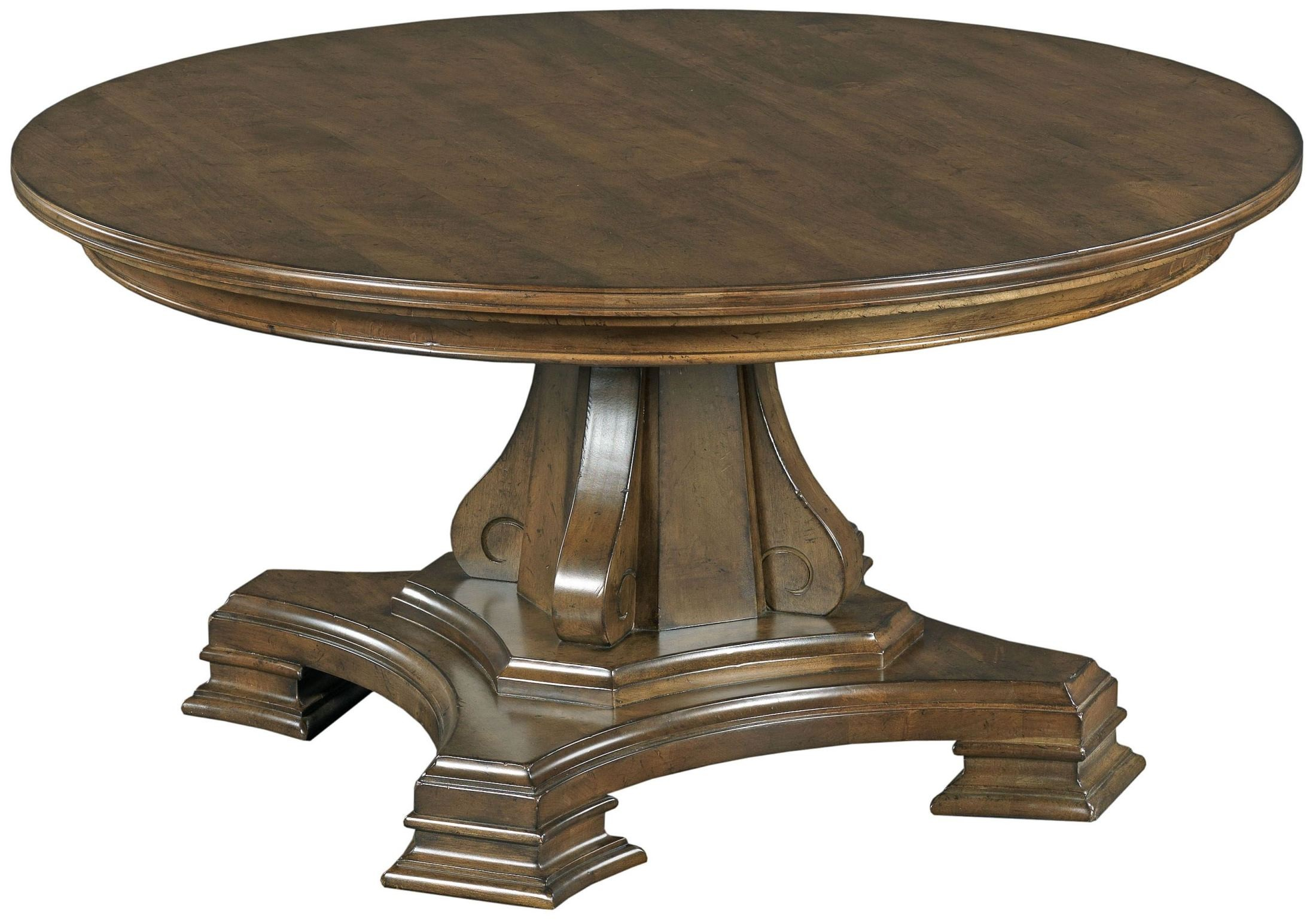 Portolone Round Cocktail Table From Kincaid 95 027t 027b