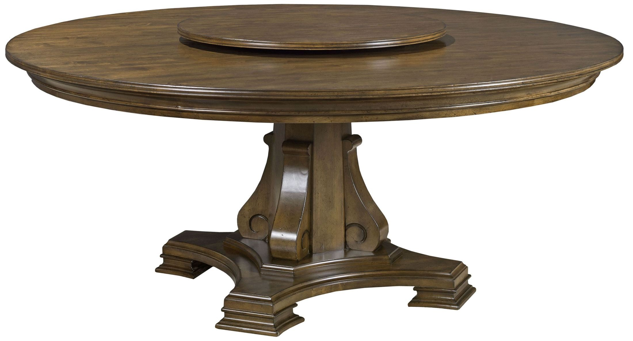 portolone 72 round dining table from kincaid 95 053t