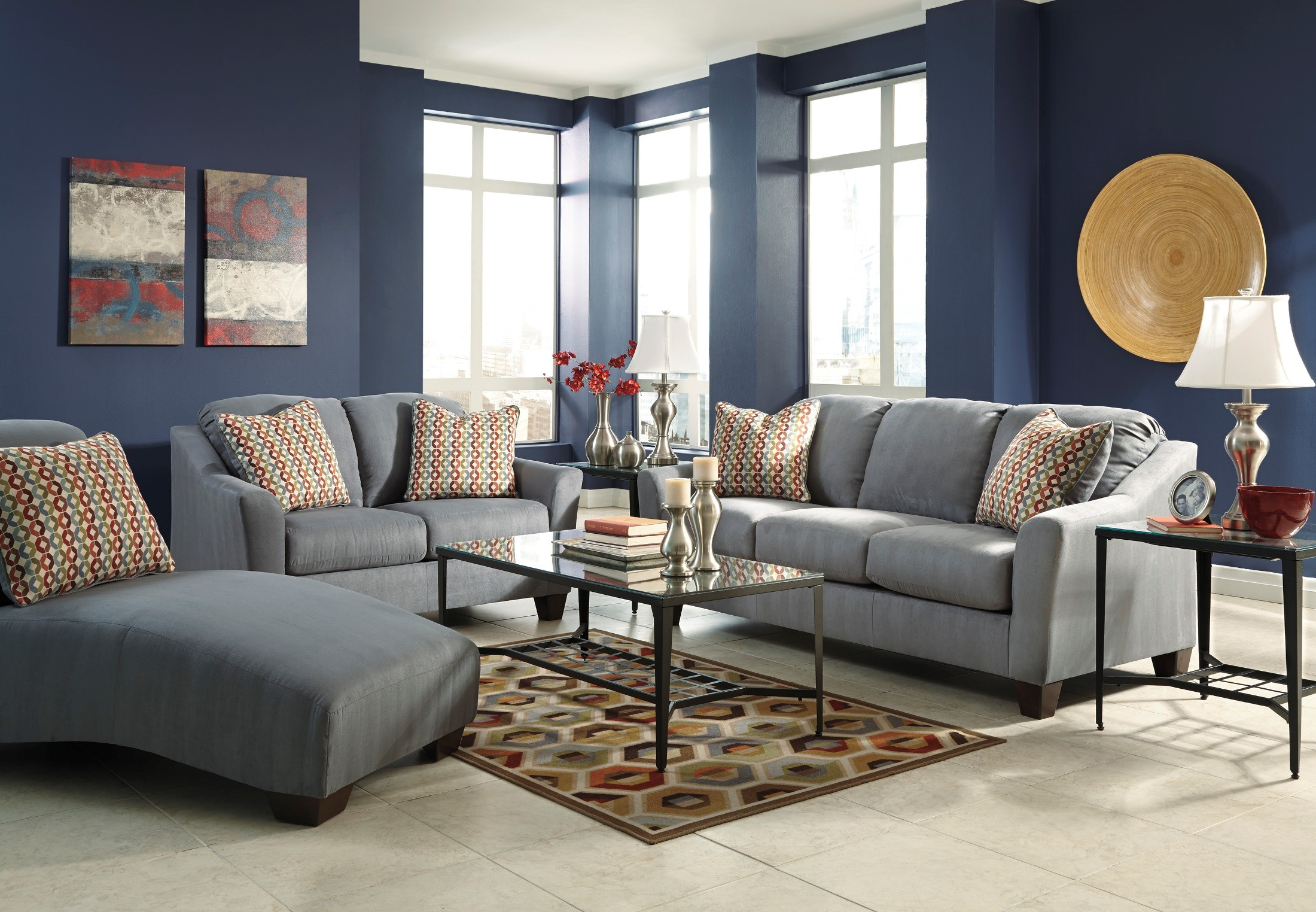 Hannin Lagoon Living Room Set From Ashley 95802 38 35
