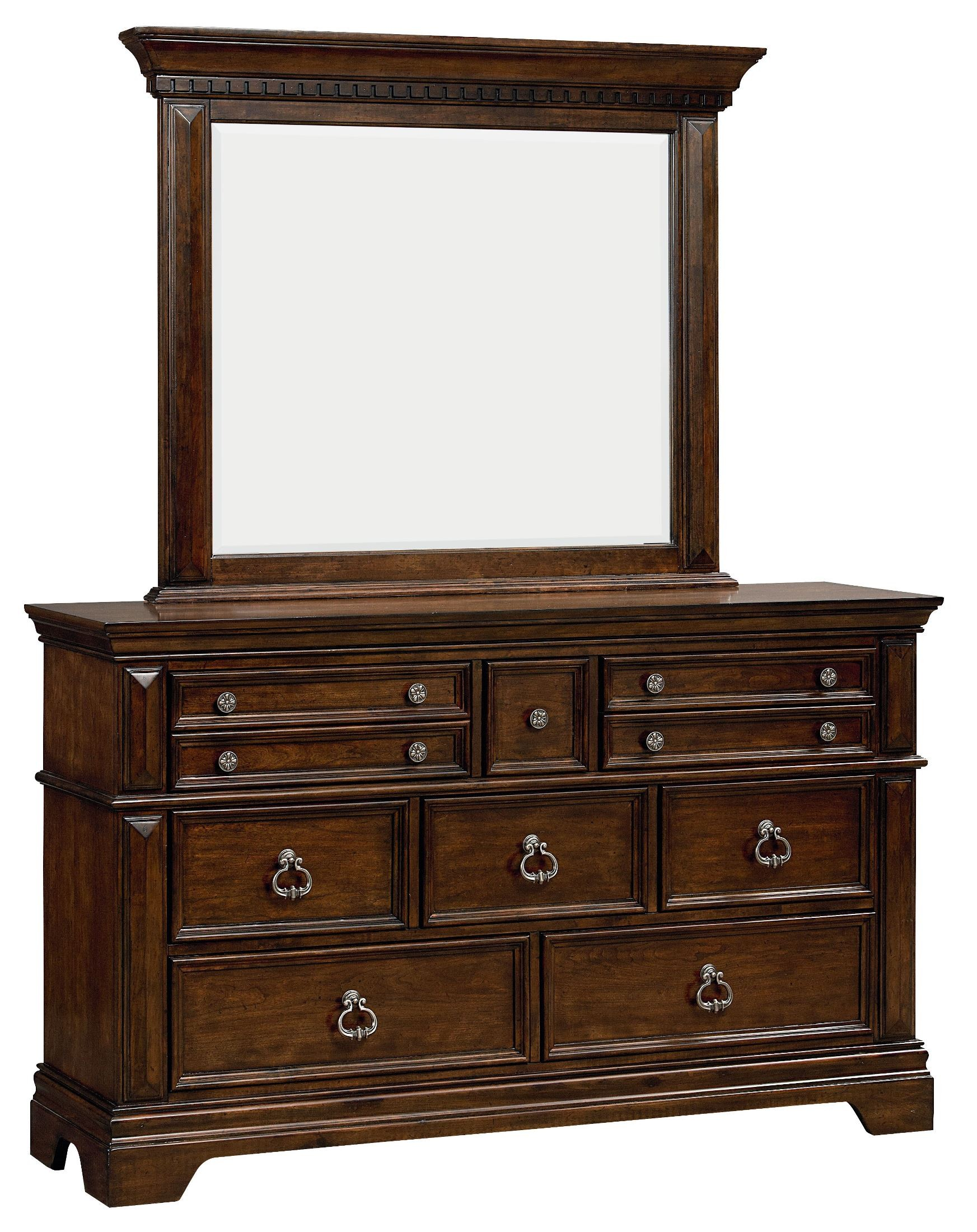 Charleston Burnished Tobacco Panel Bedroom Set 960 01 02