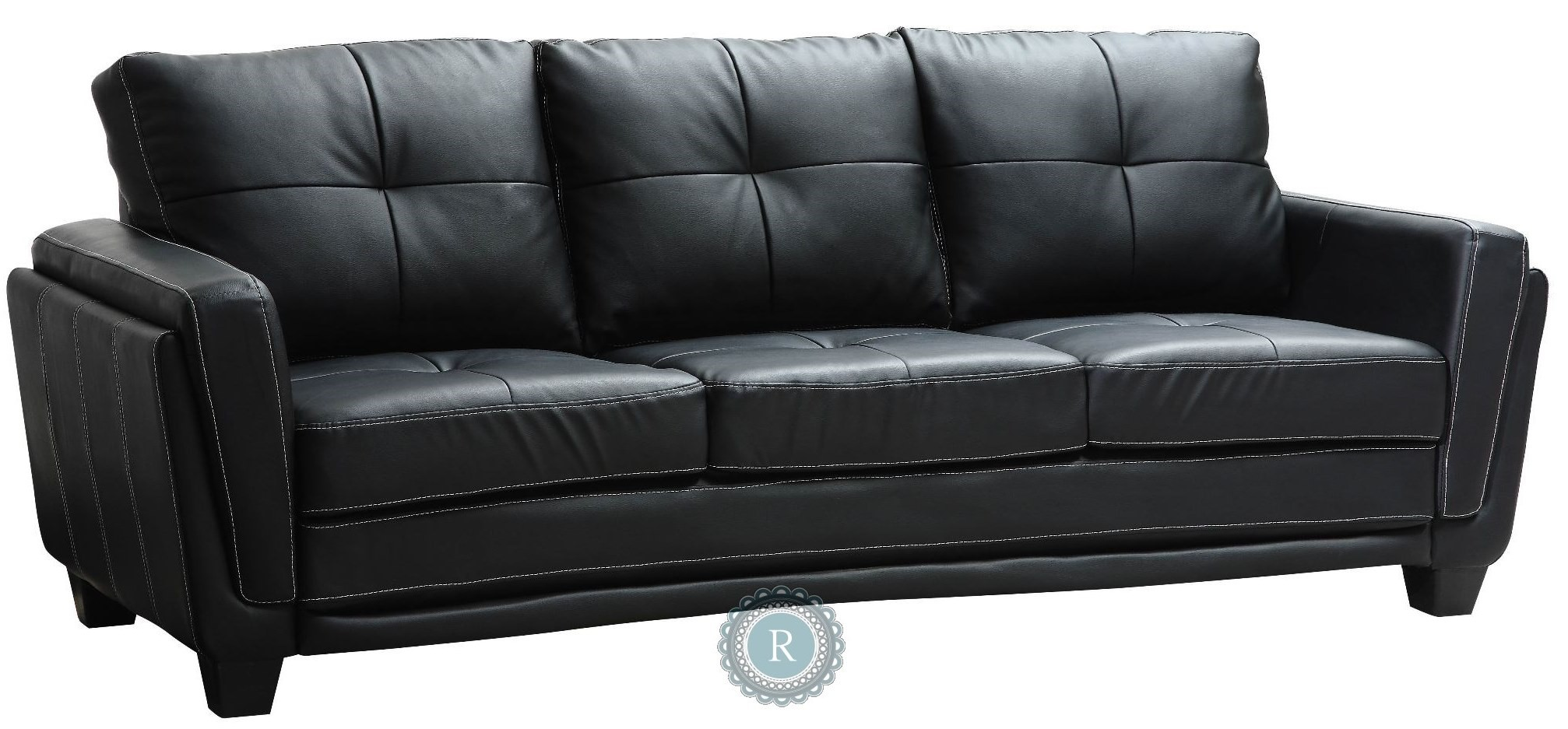Dwyer Sofa From Homelegance 9701blk 3 Coleman Furniture