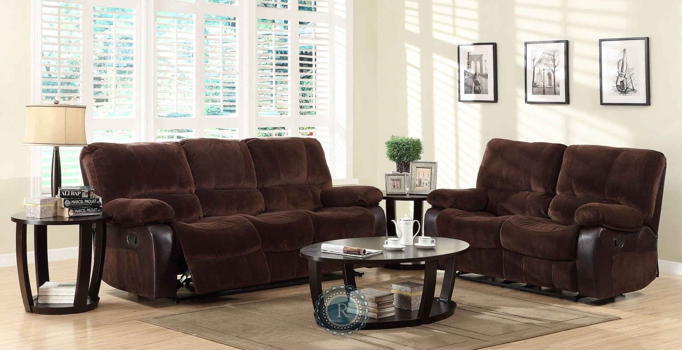 Caputo Reclining Living Room Set From Homelegance 39142 Coleman Furniture