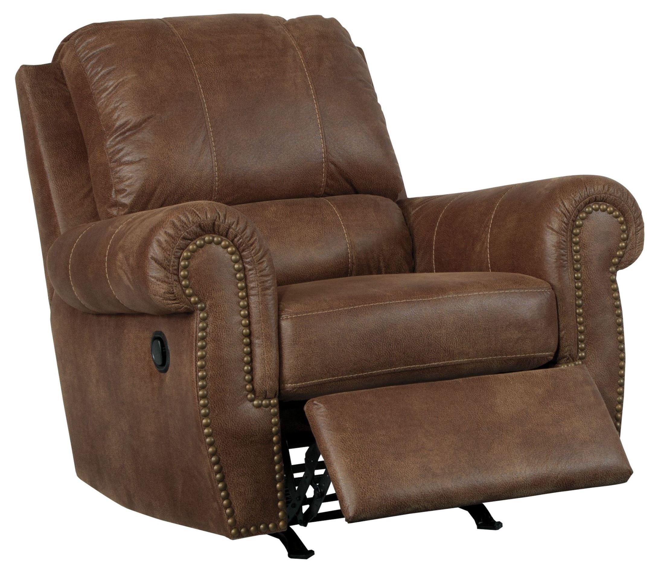 Burnsville Espresso Rocker Recliner From Ashley 9720625 Coleman Furniture