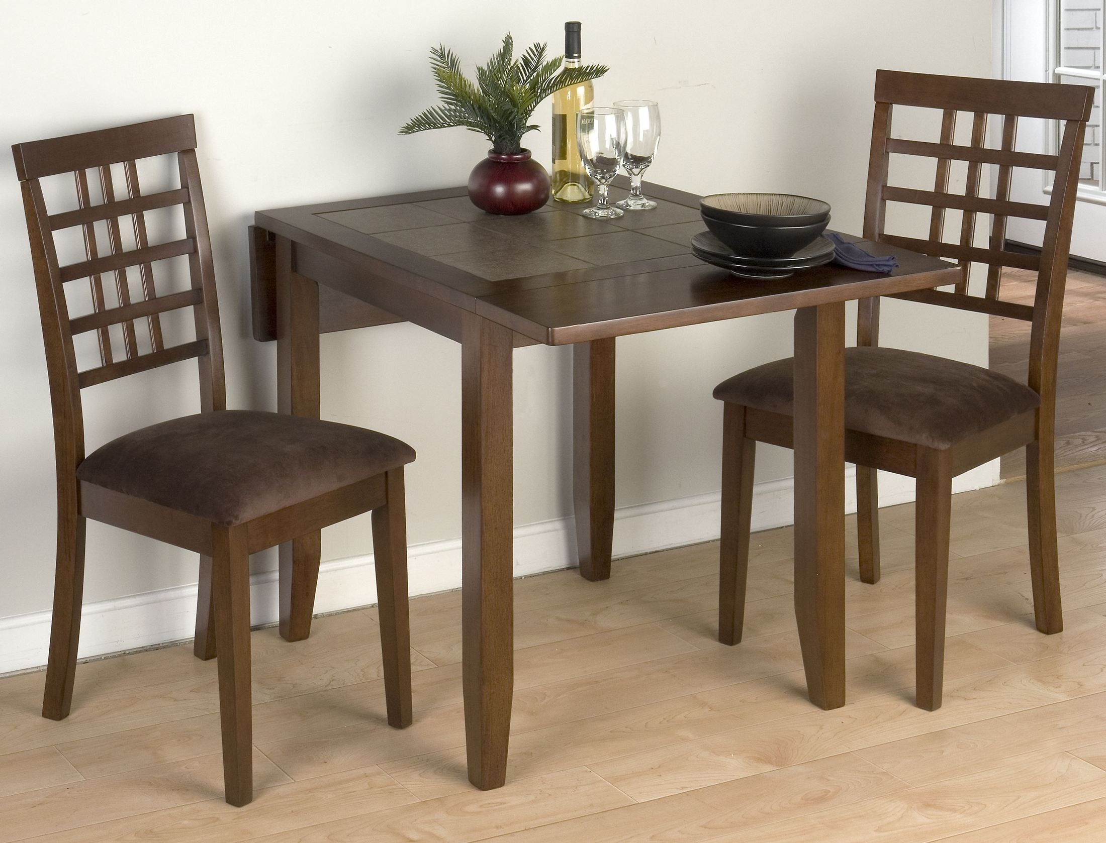 Caleb Brown Terra Tiles Drop Leaf Extendable Dining Room Set 976 30 Jofran