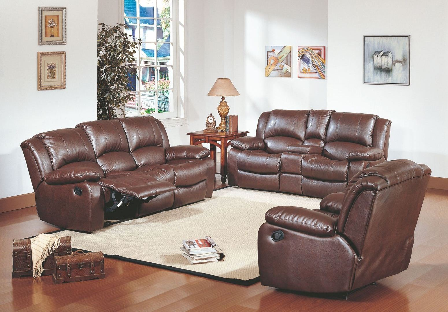 Python Reclining Living Room Set From Homelegance 9813 Coleman Furniture