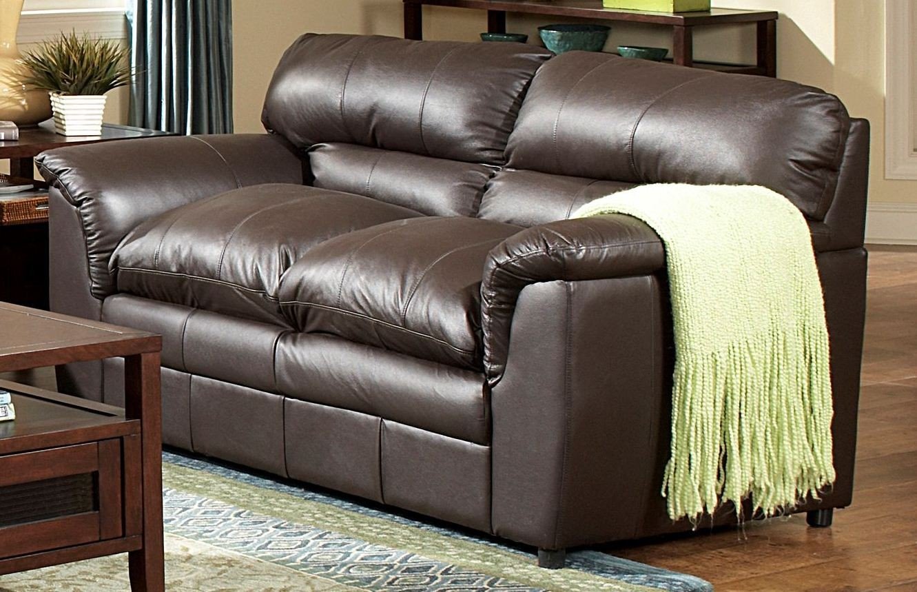 Weston dark brown living room set from homelegance 9853 for Dark brown living room set