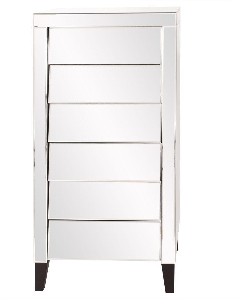 Tall mirrored dresser
