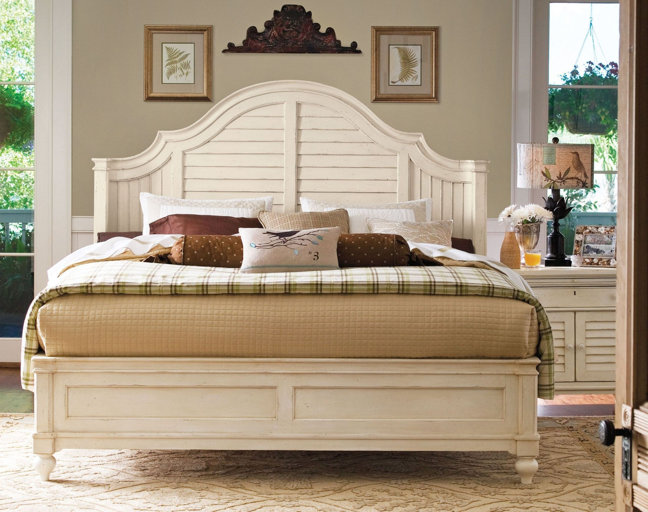Paula Deen Home Linen Magnolia Bedroom Set From Paula Deen 996210b Coleman Furniture