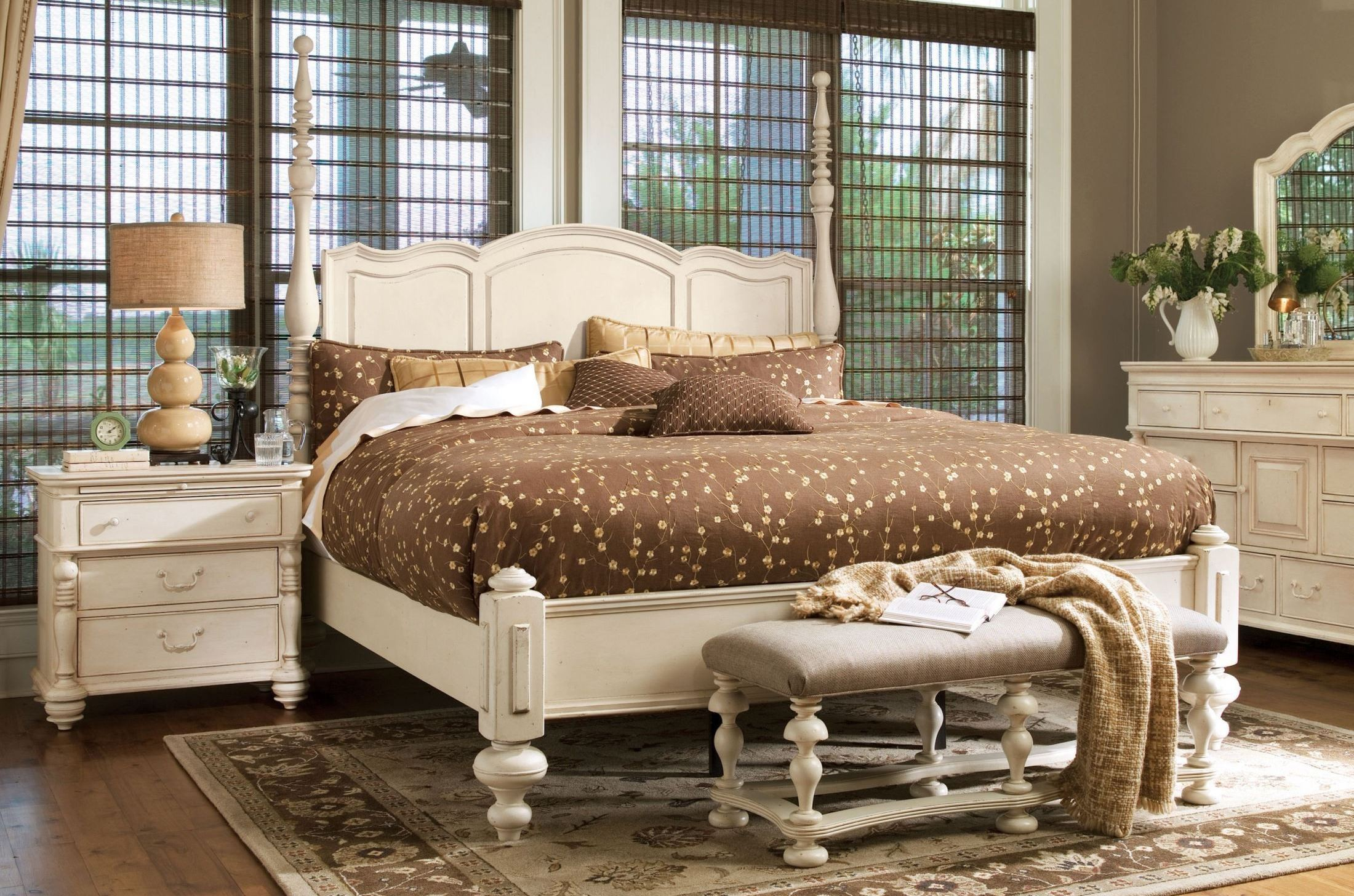 Paula Deen Home Linen Savannah Poster Bedroom Set from Paula Deen ...