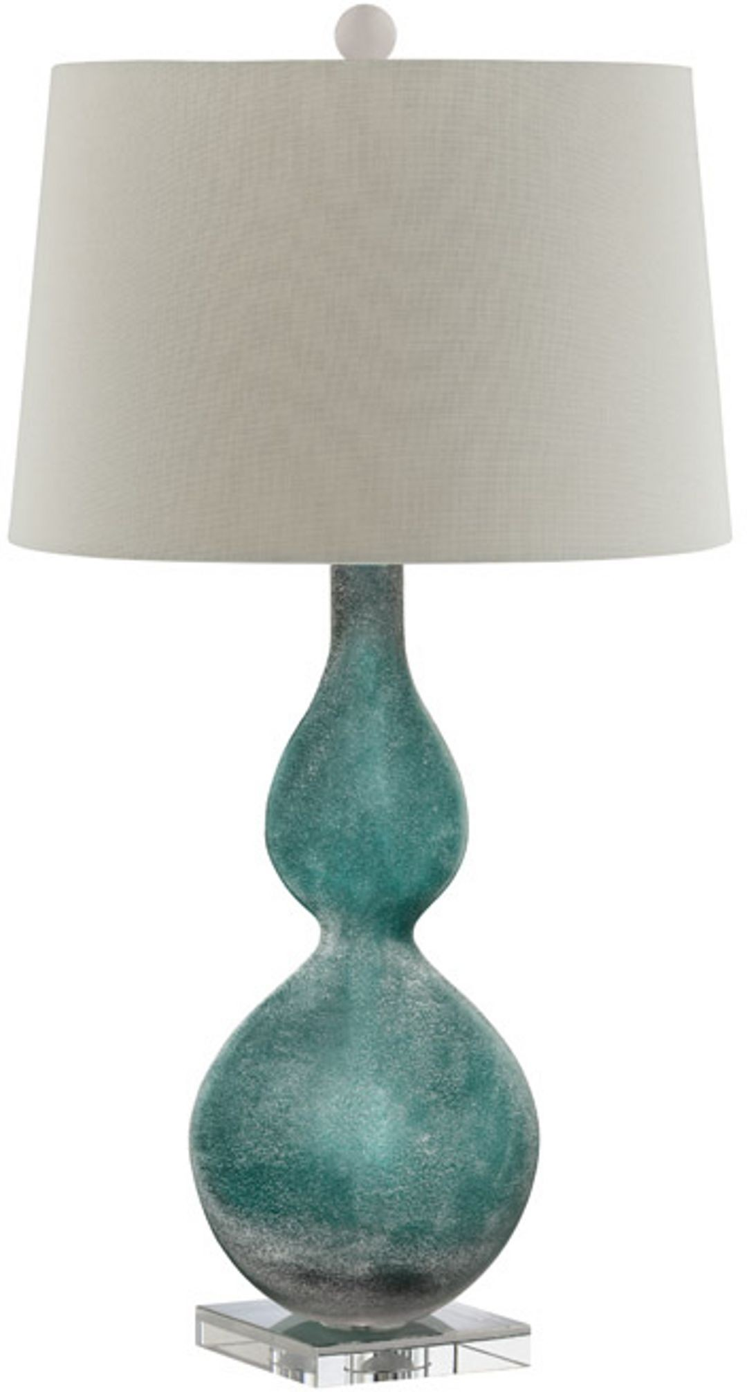 atria green glass table lamp from steinworld 99693 coleman. Black Bedroom Furniture Sets. Home Design Ideas