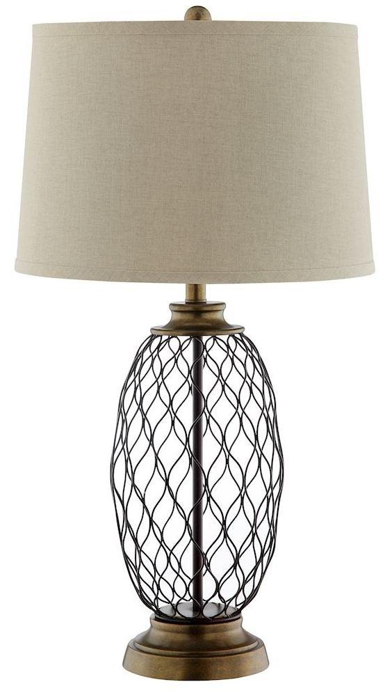 Antique Table Lamps Catalogs : Cape antique brass table lamp stein world