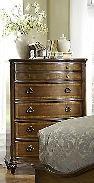 Marisol Brighton Cherry Panel Bedroom Set from Fairmont ...
