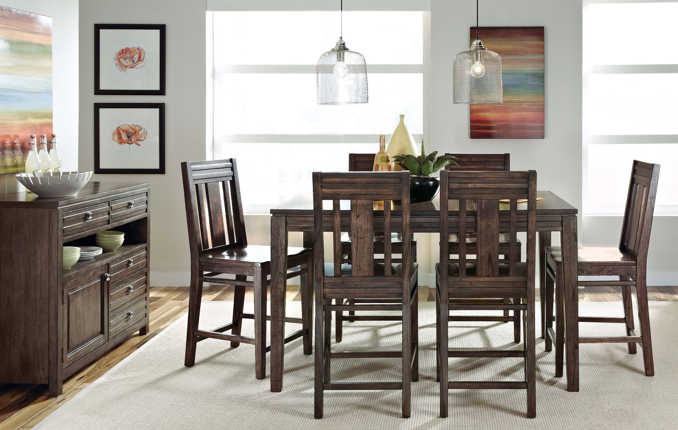 montreat extendable tall dining room set from kincaid 84 tall dining room sets tall dining room tables excellent