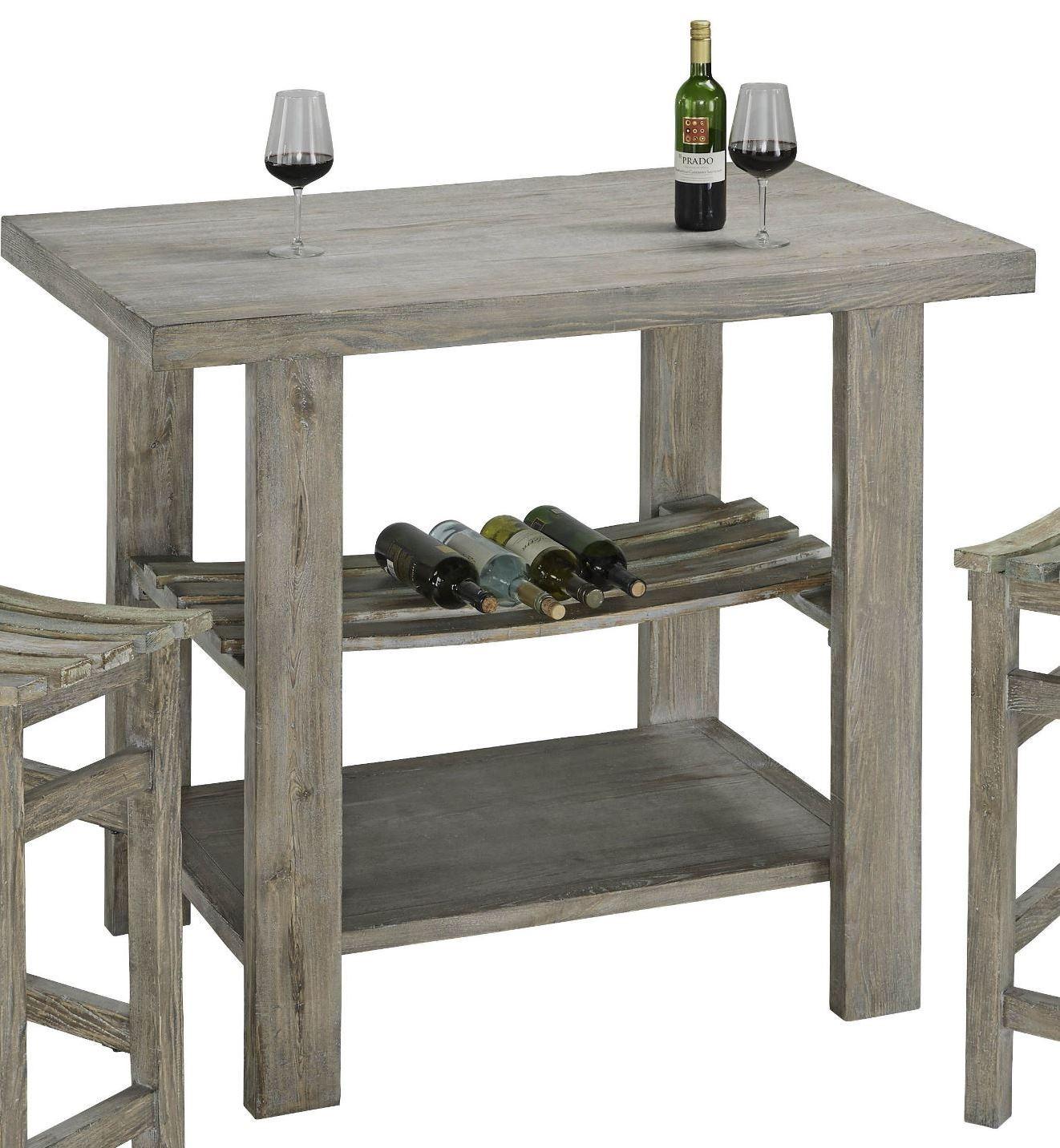 Cabernet Grey Bar Table, A196 52, Progressive