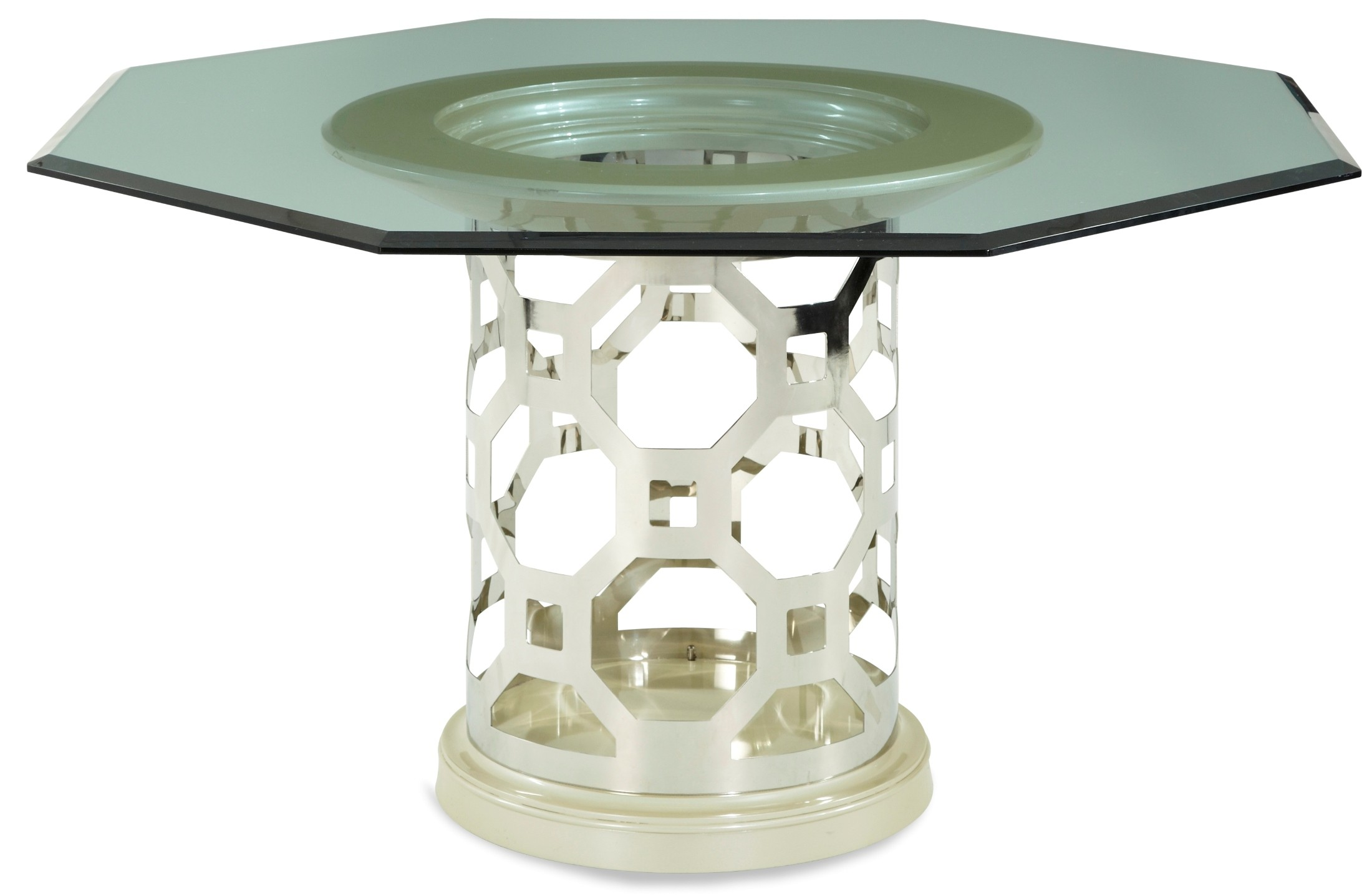 After eight pearl 60 round octagon shaped dining table for 60 round dining table
