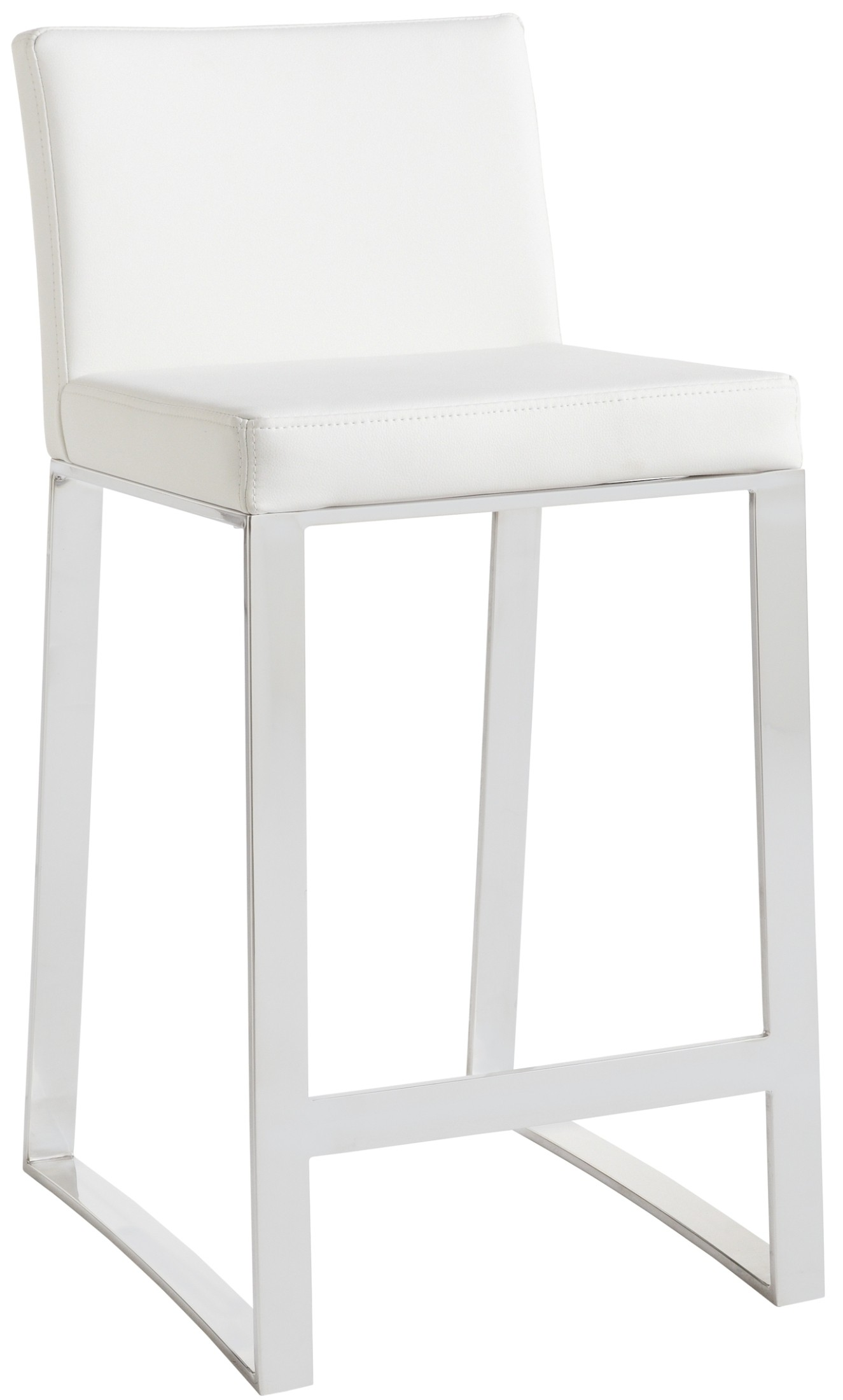 Architect White Counter Stool From Sunpan 36286
