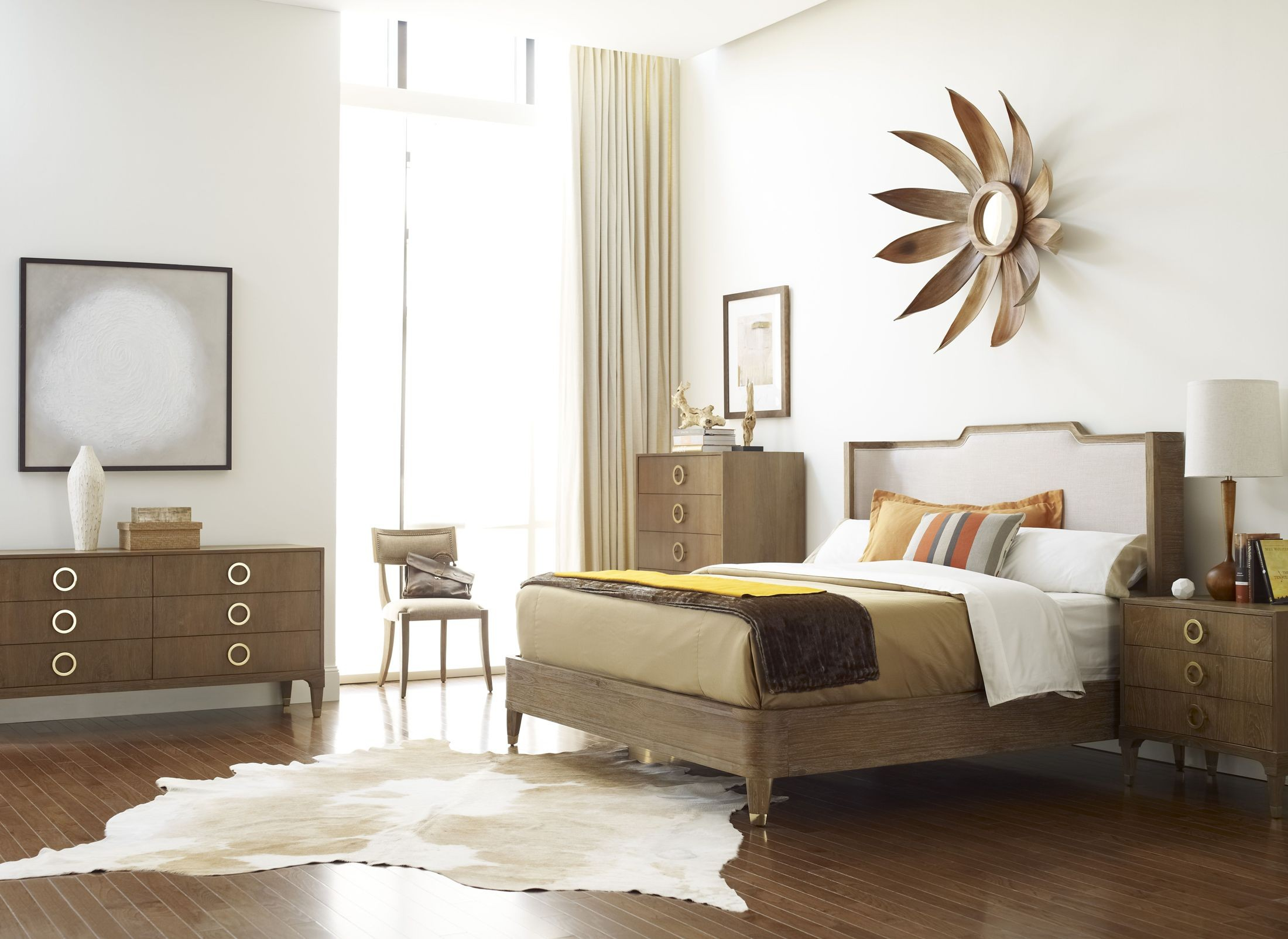 atherton cerused teak bedroom set from brownstone at005