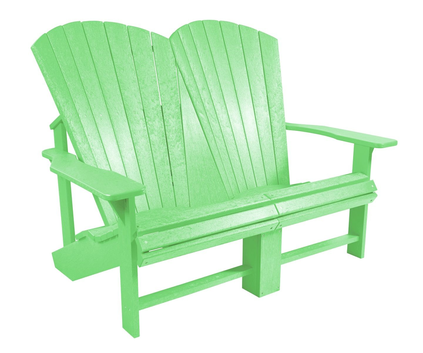 Generations Lime Green Addy Loveseat From Cr Plastic B06 15 Coleman Furniture