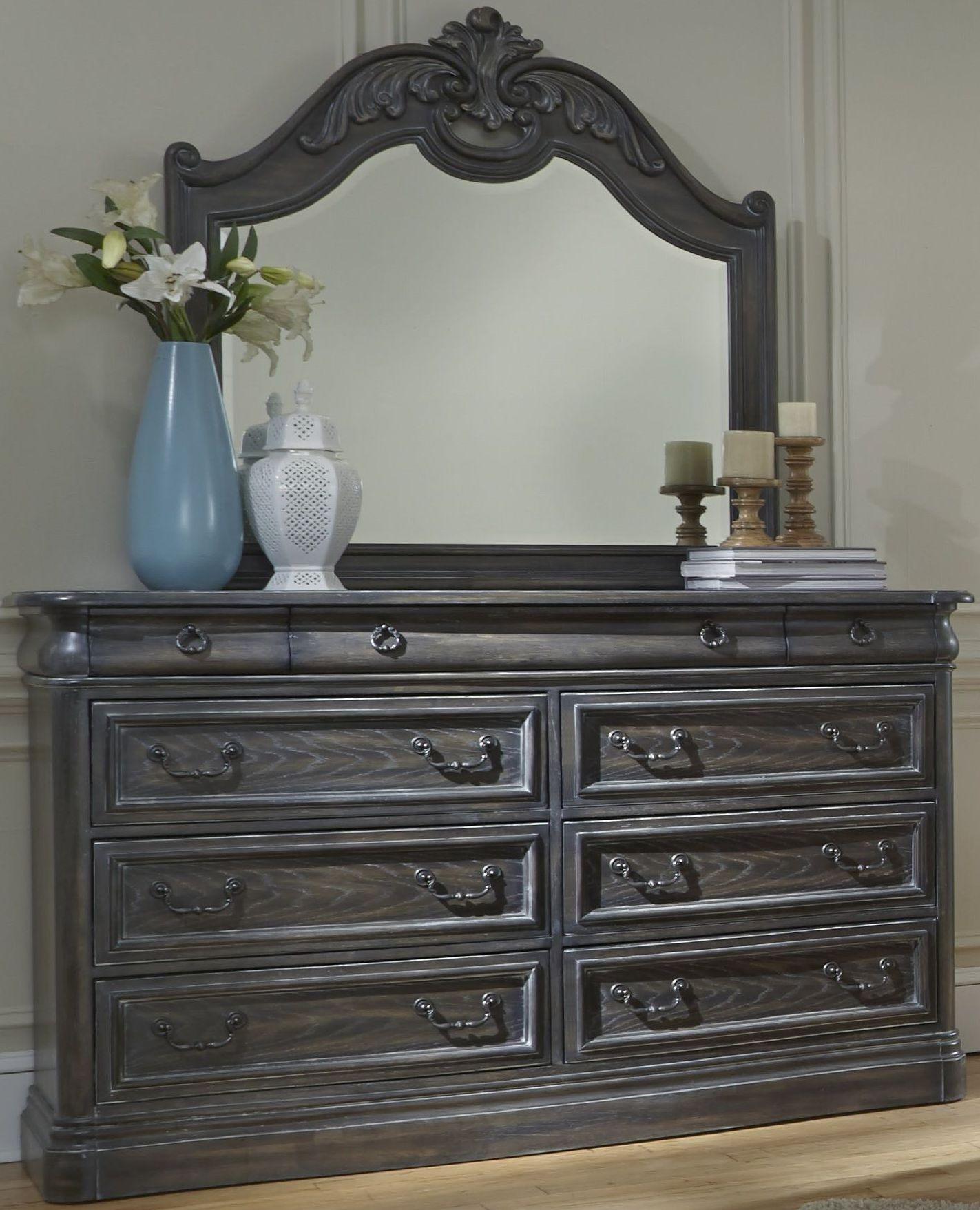 Terracina Distressed Smokey Oak Panel Bedroom Set B121 36 78 79 Progressive Furniture