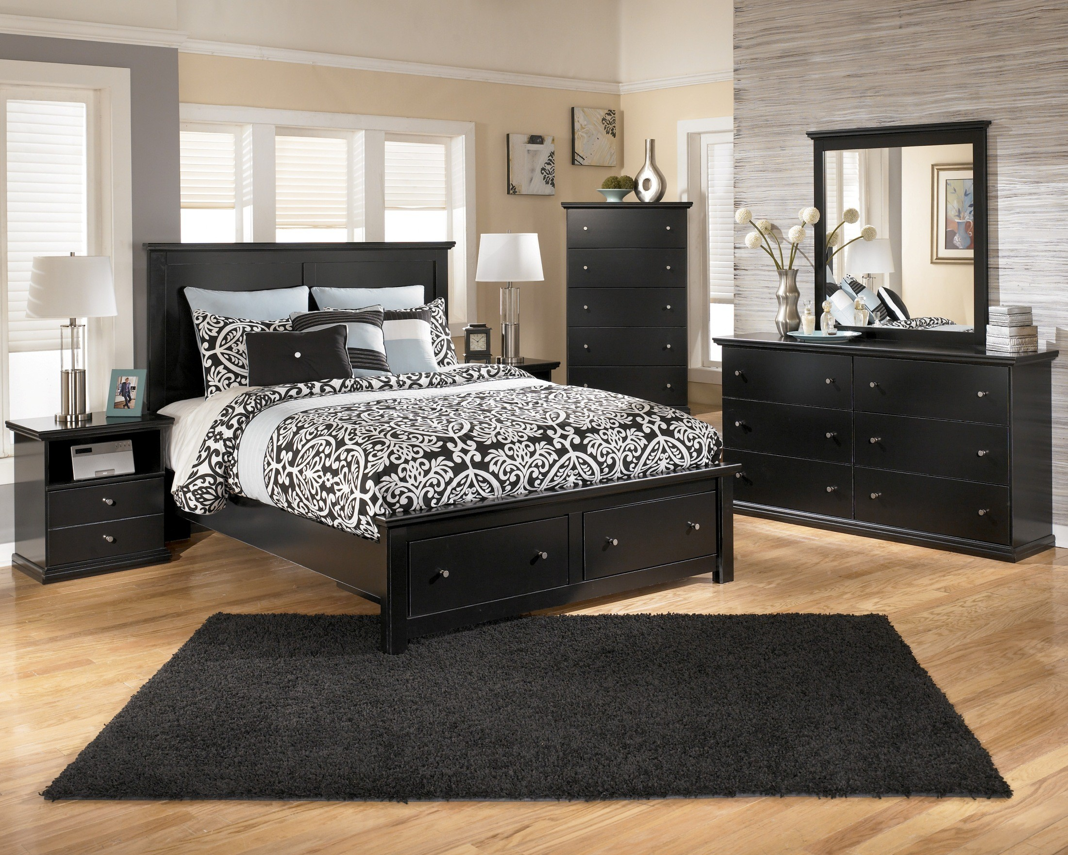 maribel panel storage bedroom set from ashley coleman furniture cavallino queen storage bedroom set ashley furniture