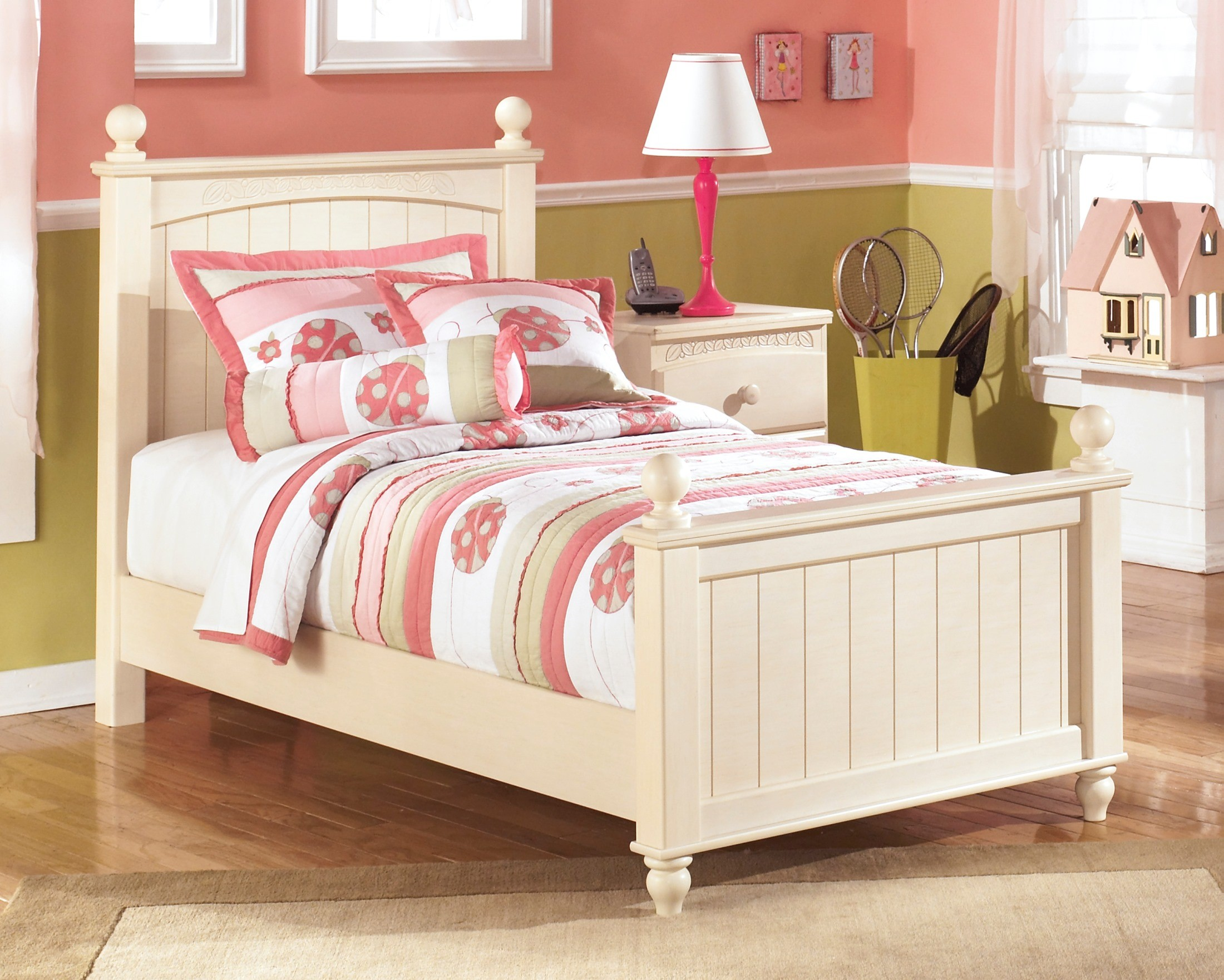 Cottage retreat youth poster bedroom set from ashley b213 51n 52n 83n coleman furniture Cottage retreat bedroom set