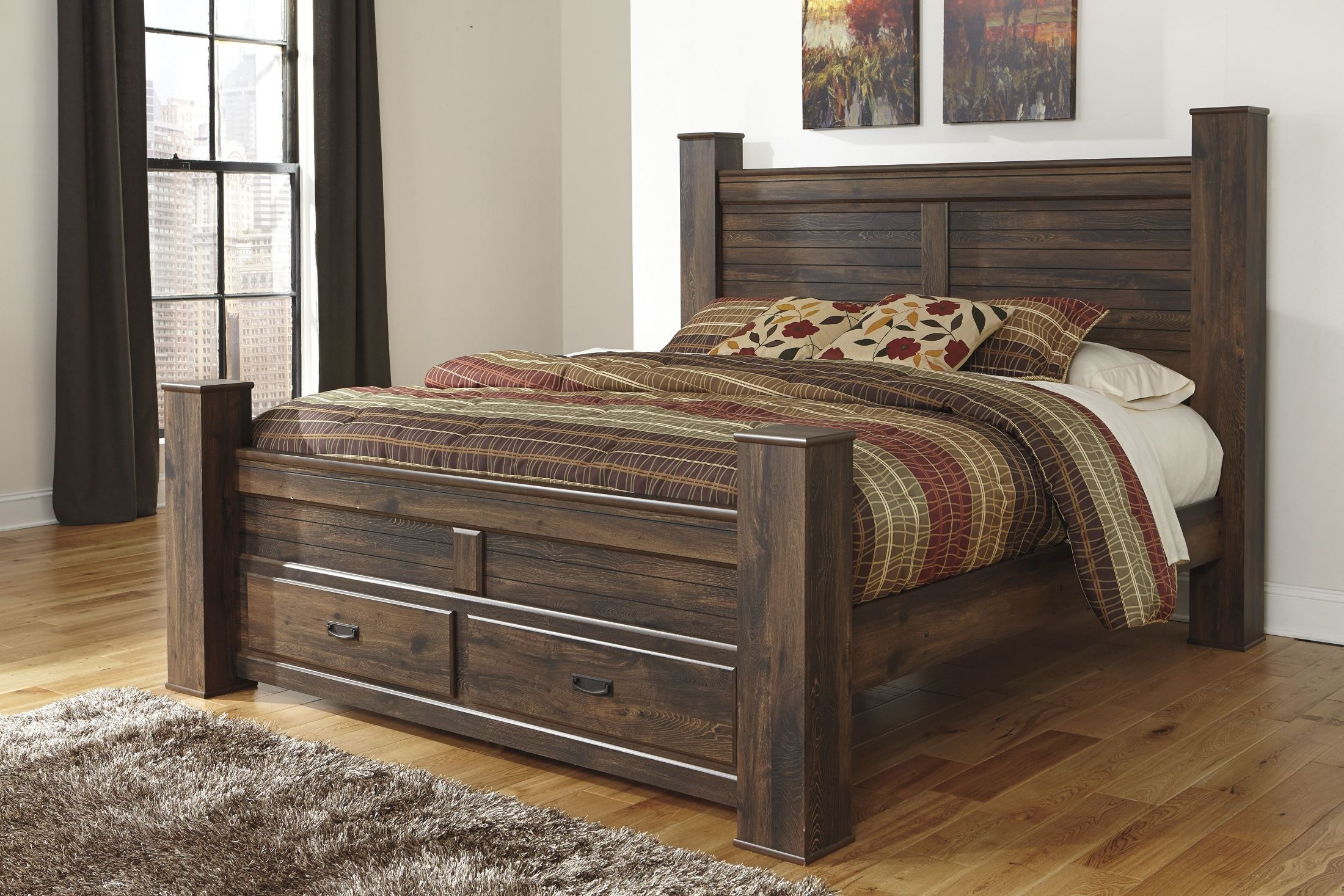 Quinden Poster Storage Bedroom Set from Ashley B246 61 64S 98