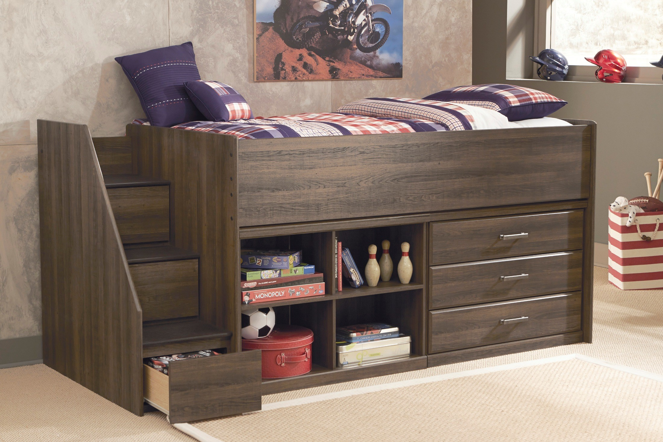 juararo loft bedroom set from ashley b251y 68t coleman loft bunk bed for adults home design ideas