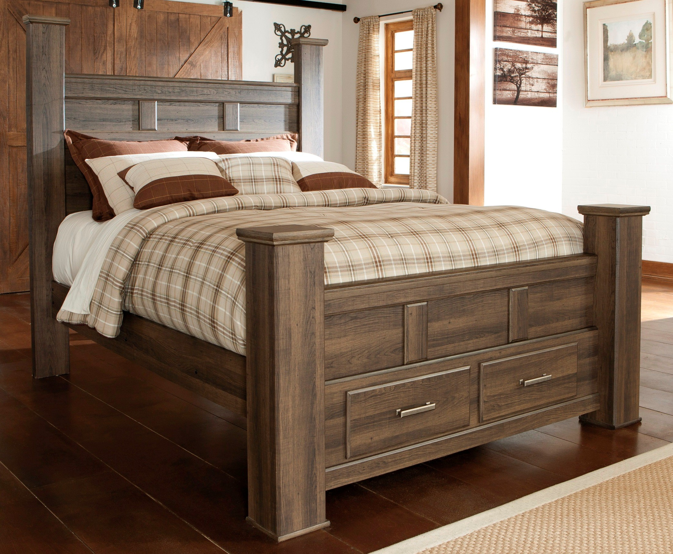 Juararo Poster Storage Bedroom Set From Ashley B251 67