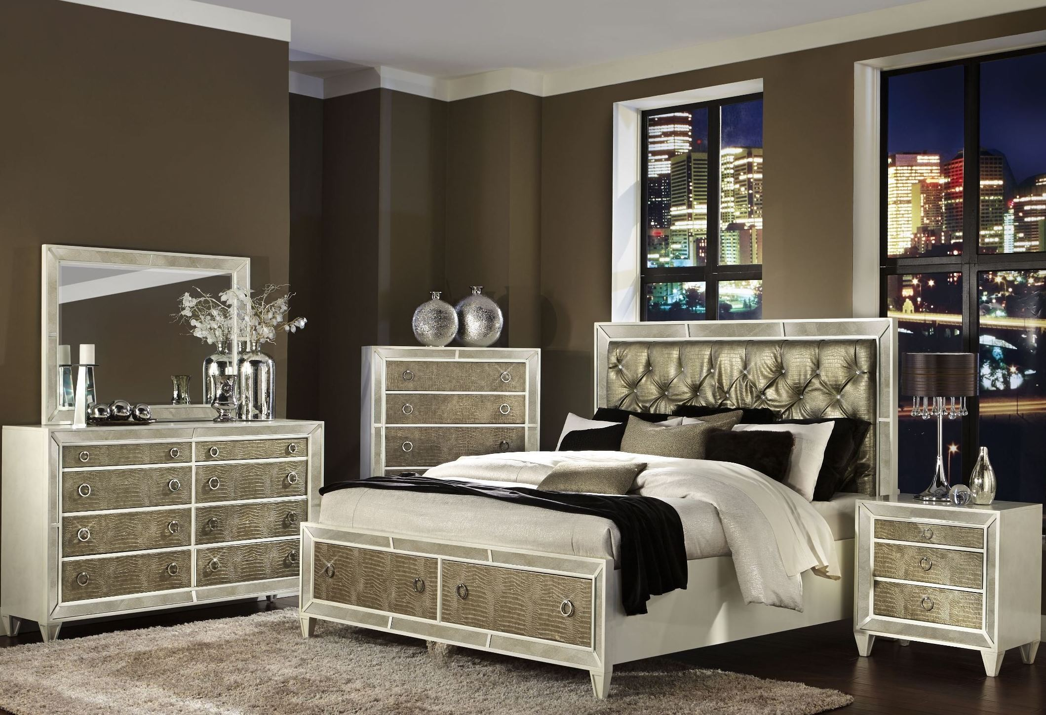 monroe panel storage bedroom set from magnussen home b2935 55f 54h 54r coleman furniture