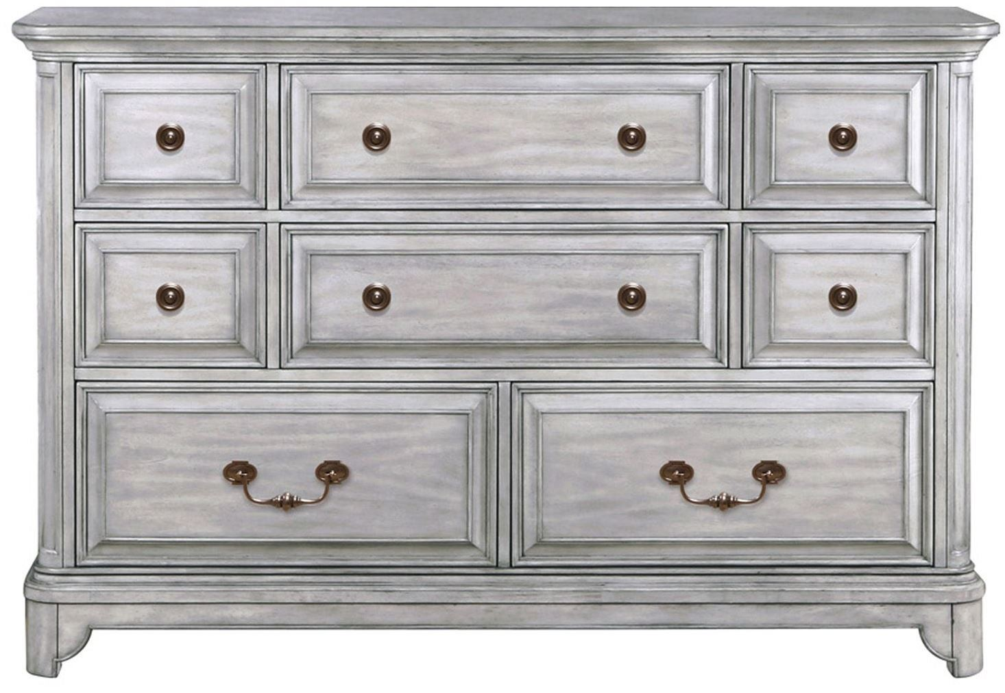 Windsor Lane Weathered Grey Wood Drawer Dresser From Magnussen Home B3341 20 Coleman Furniture