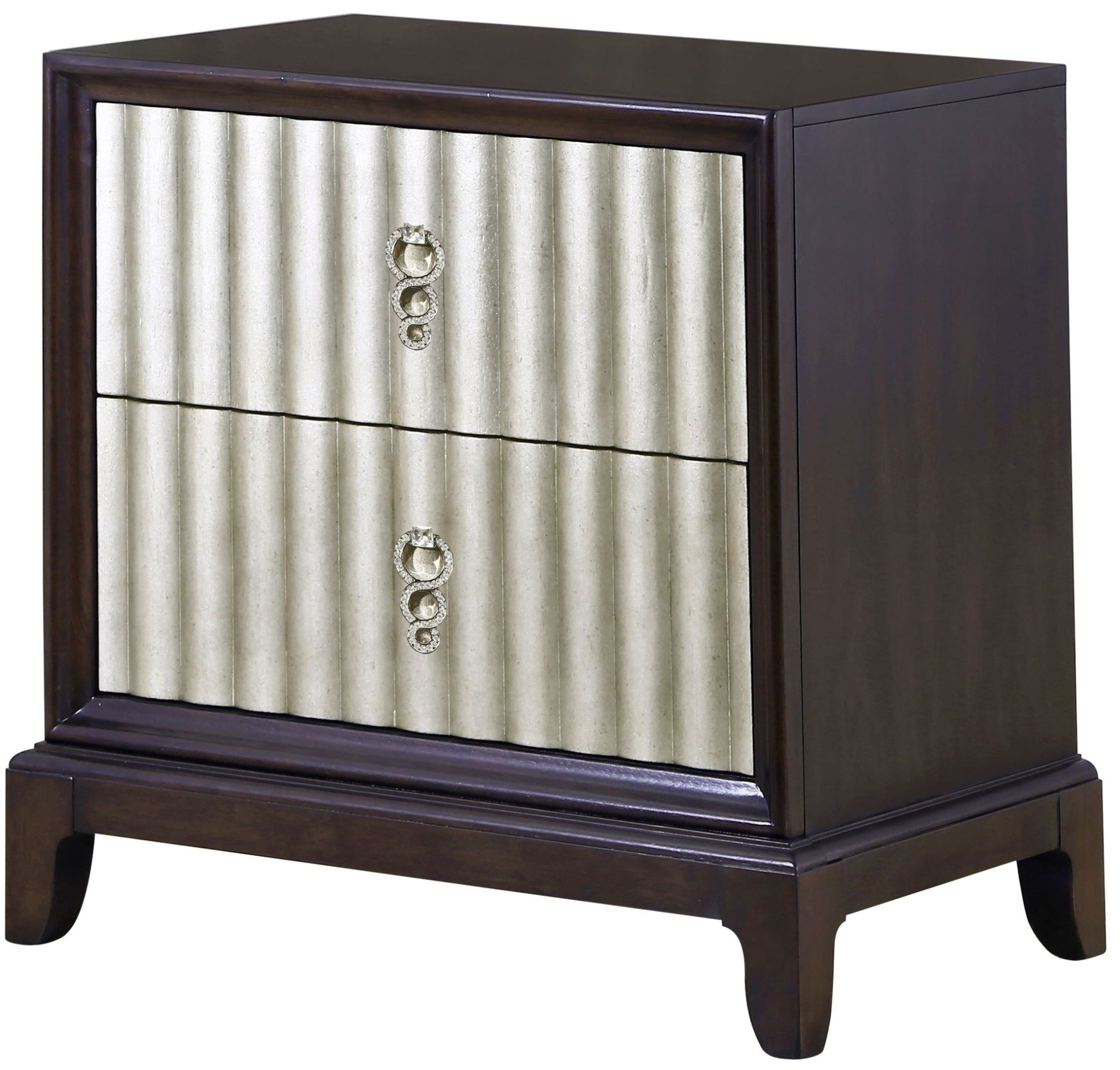 Gramercy Sable Wood Drawer Nightstand From Magnussen Home B3564 01 Coleman Furniture